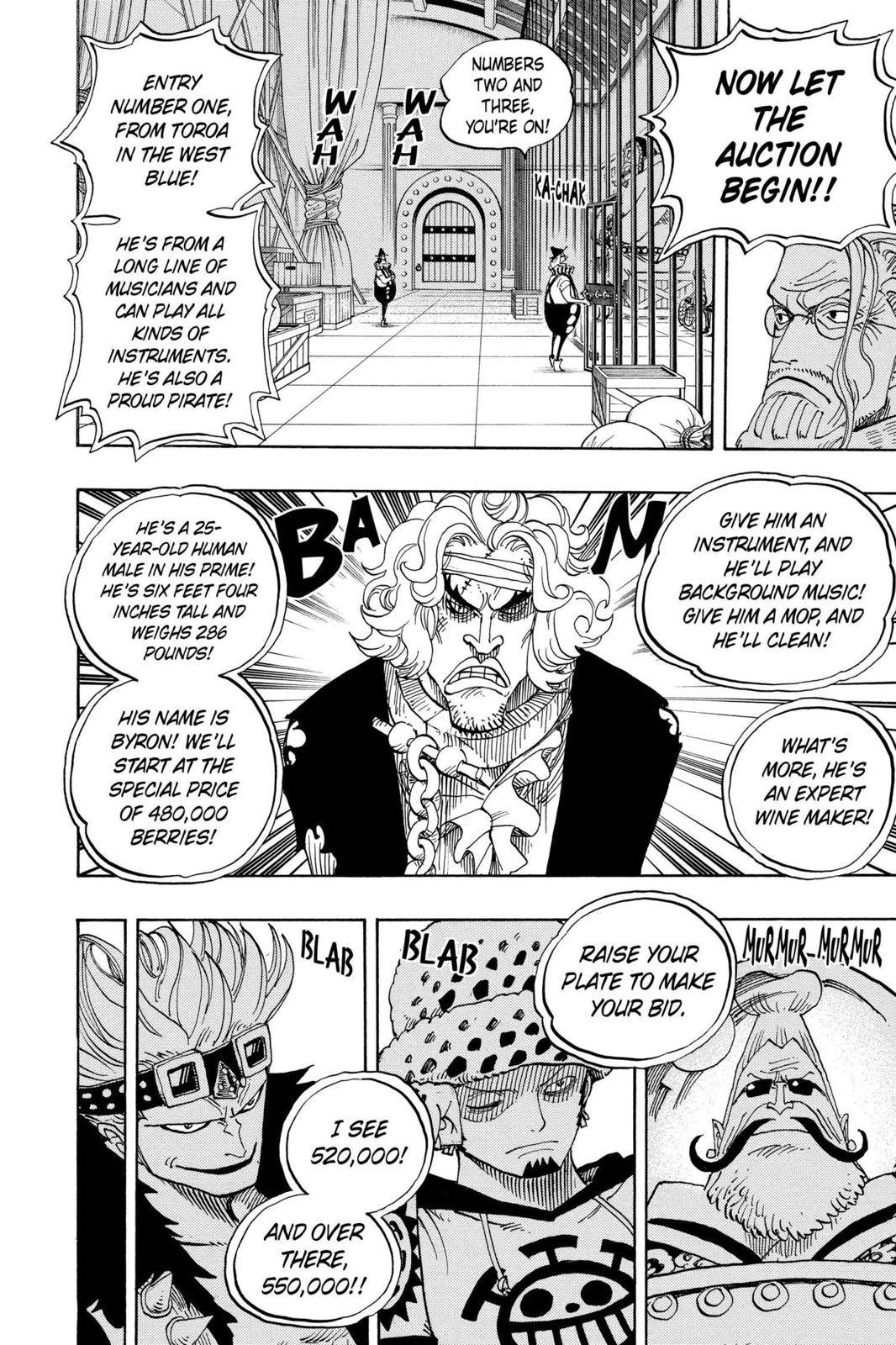 One Piece Chapter 501 Page 5