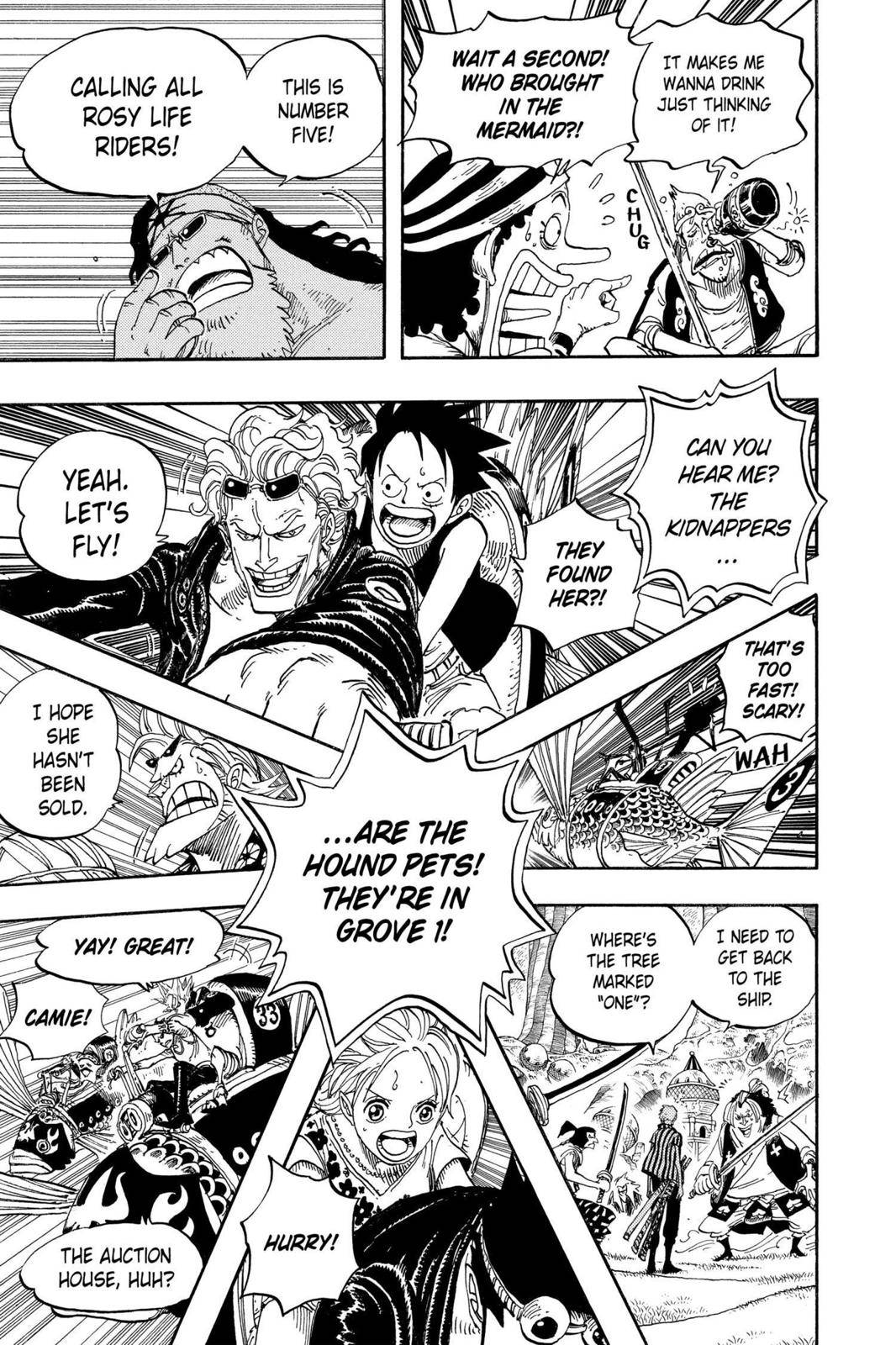 One Piece Chapter 501 Page 8