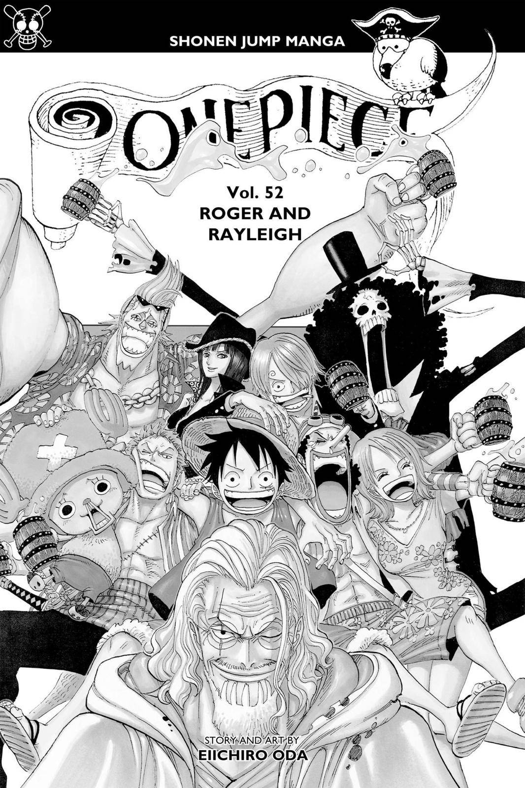 One Piece Chapter 503 Page 4