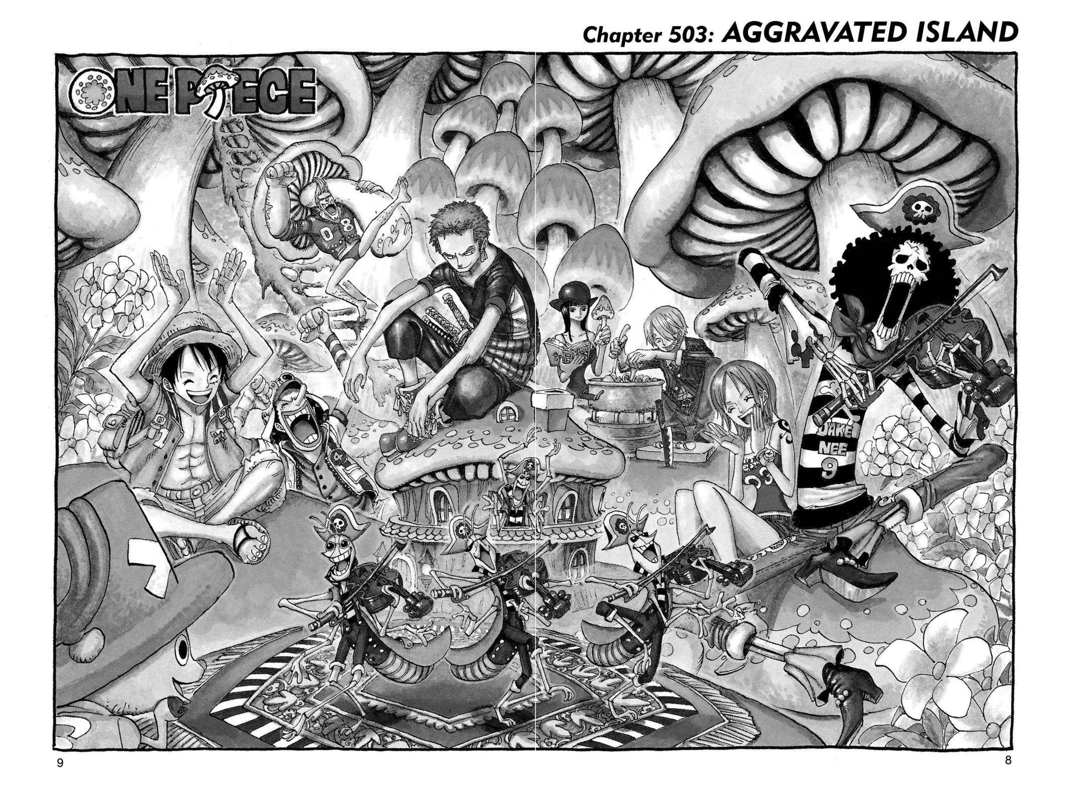 One Piece Chapter 503 Page 9