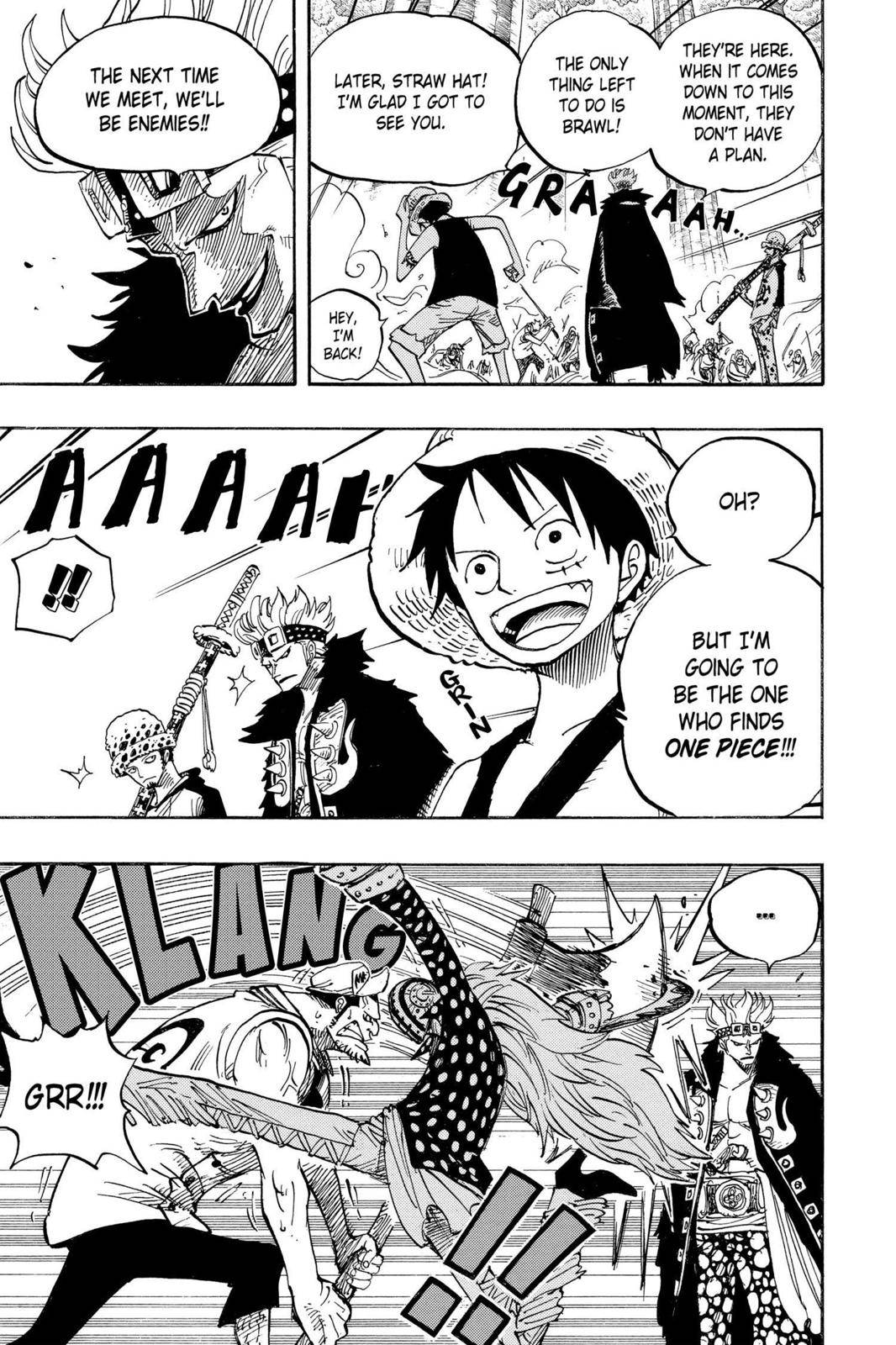 One Piece Chapter 505 Page 10