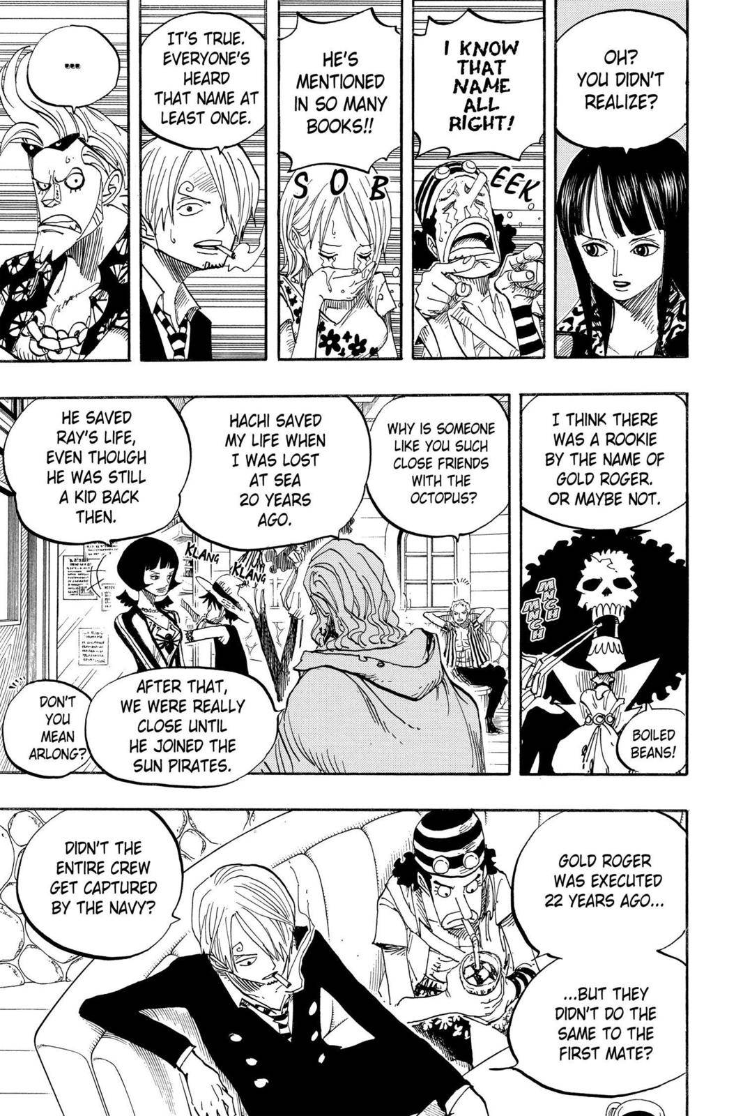 One Piece Chapter 506 Page 9