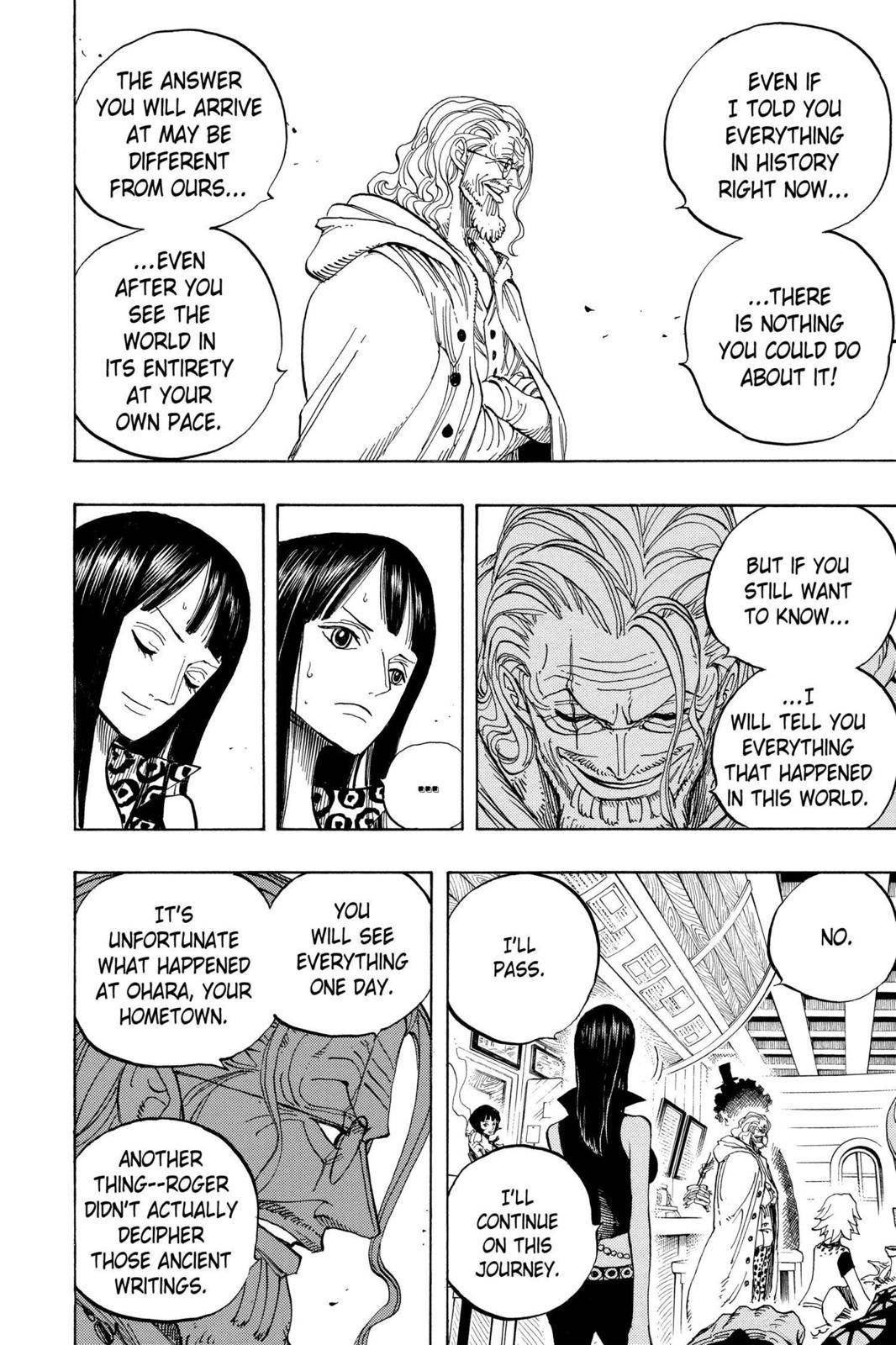 One Piece Chapter 507 Page 6