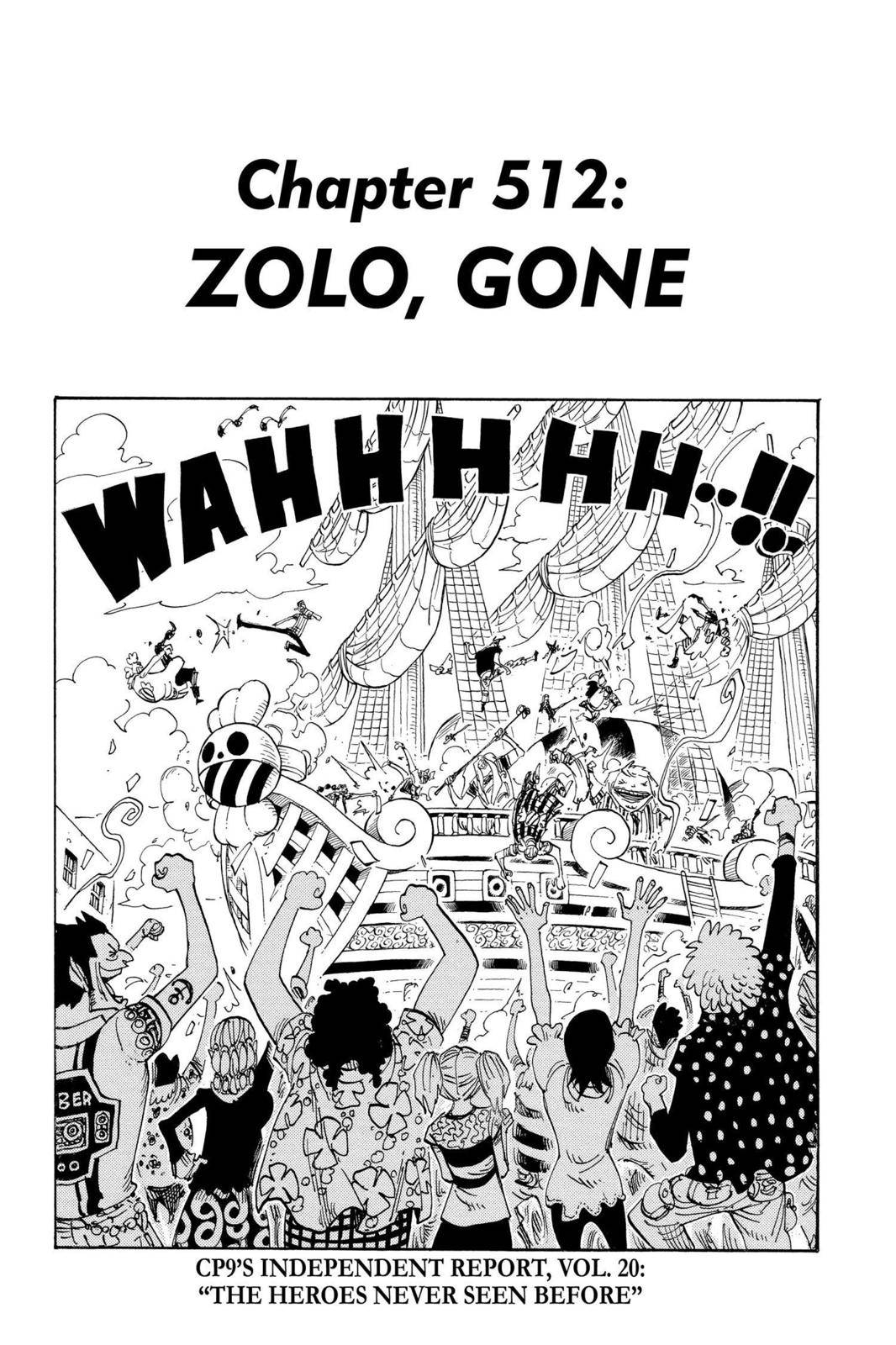 One Piece Chapter 512 Page 1