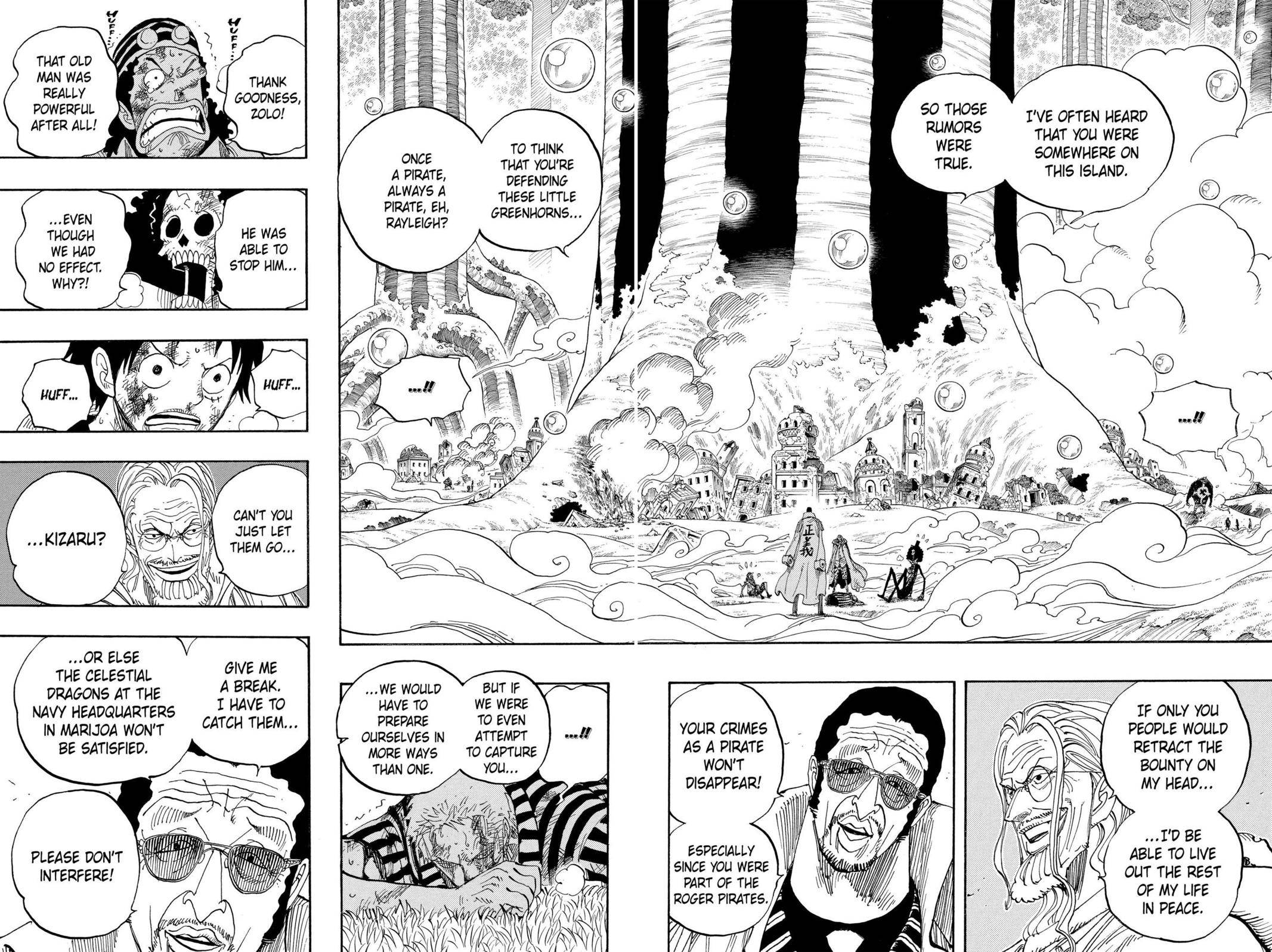 One Piece Chapter 512 Page 2