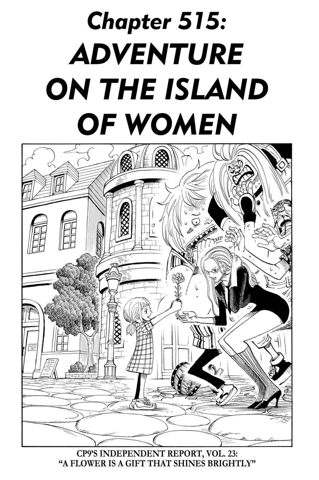 One Piece Chapter 515 Page 1