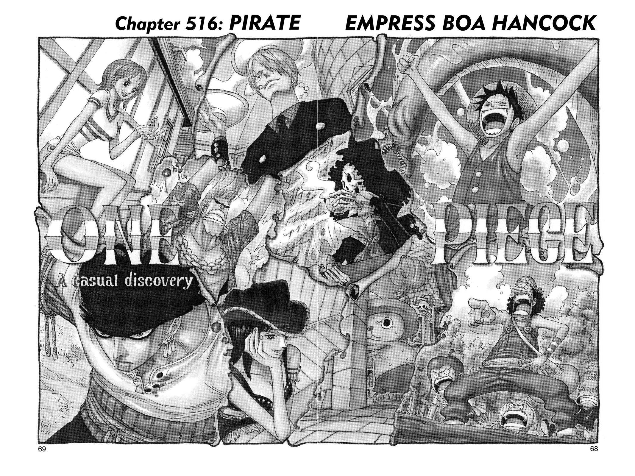 One Piece Chapter 516 Page 1