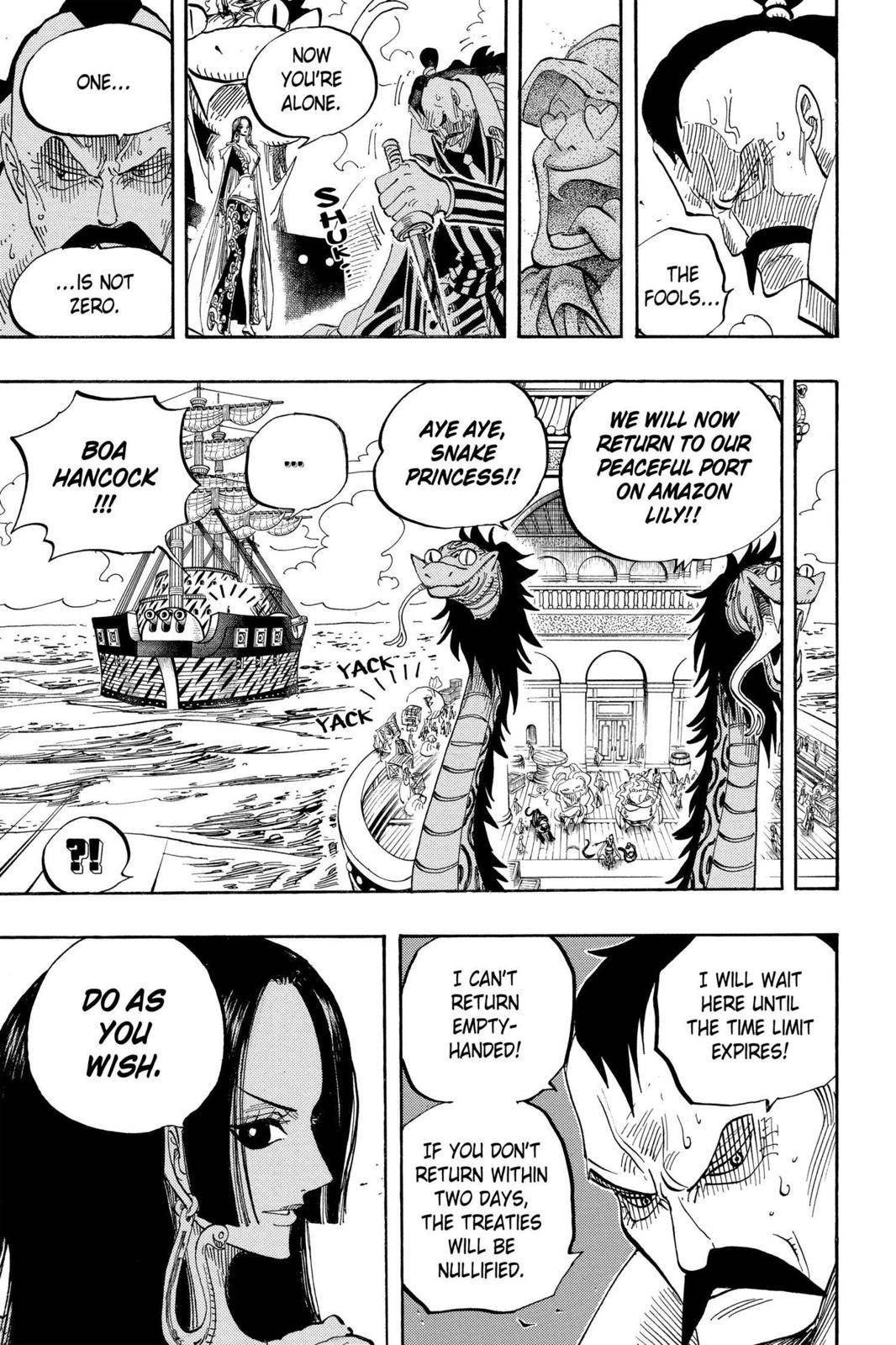 One Piece Chapter 516 Page 18