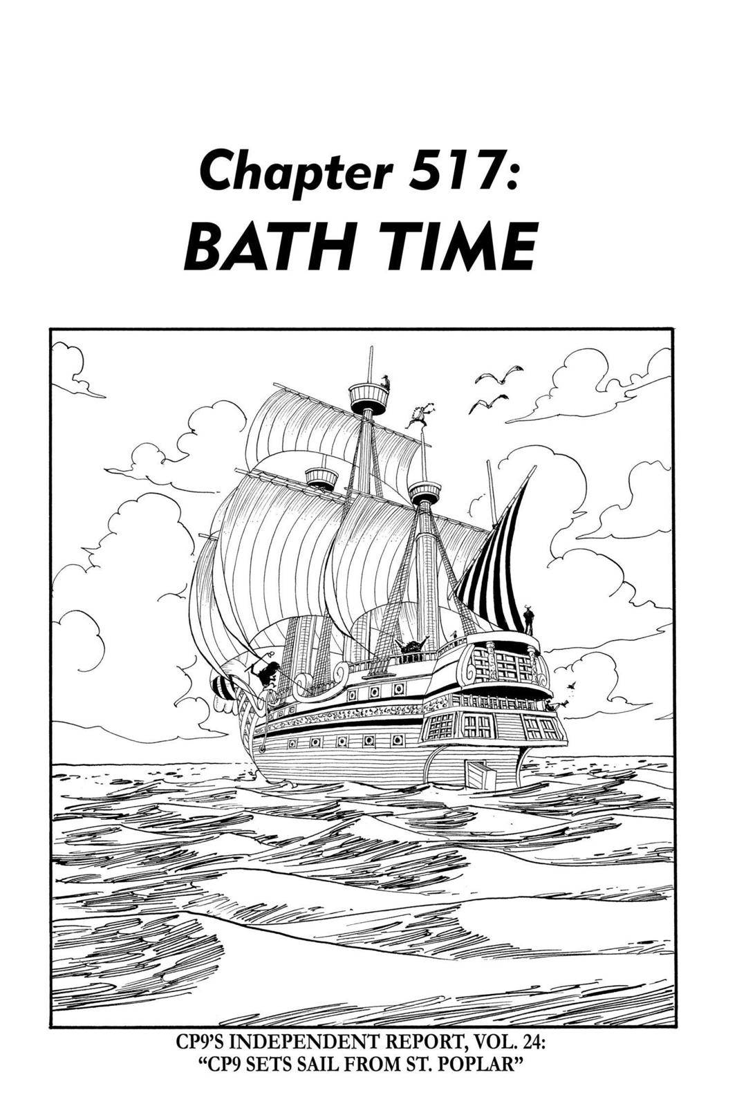One Piece Chapter 517 Page 1