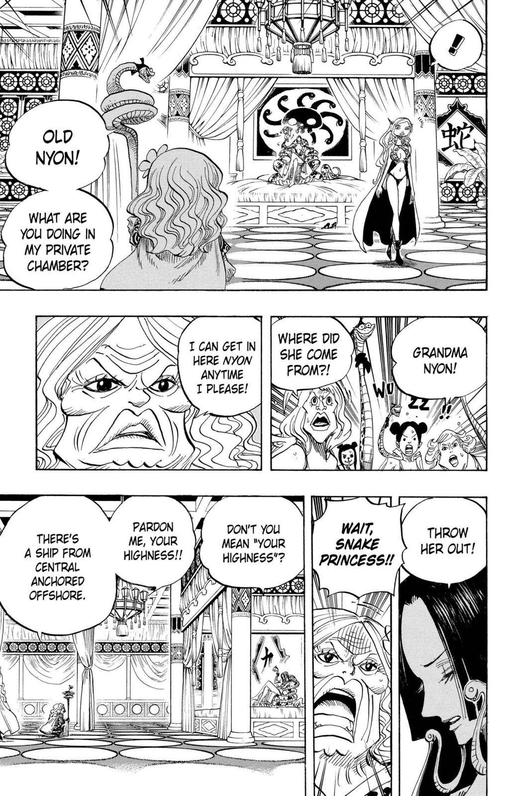 One Piece Chapter 517 Page 7