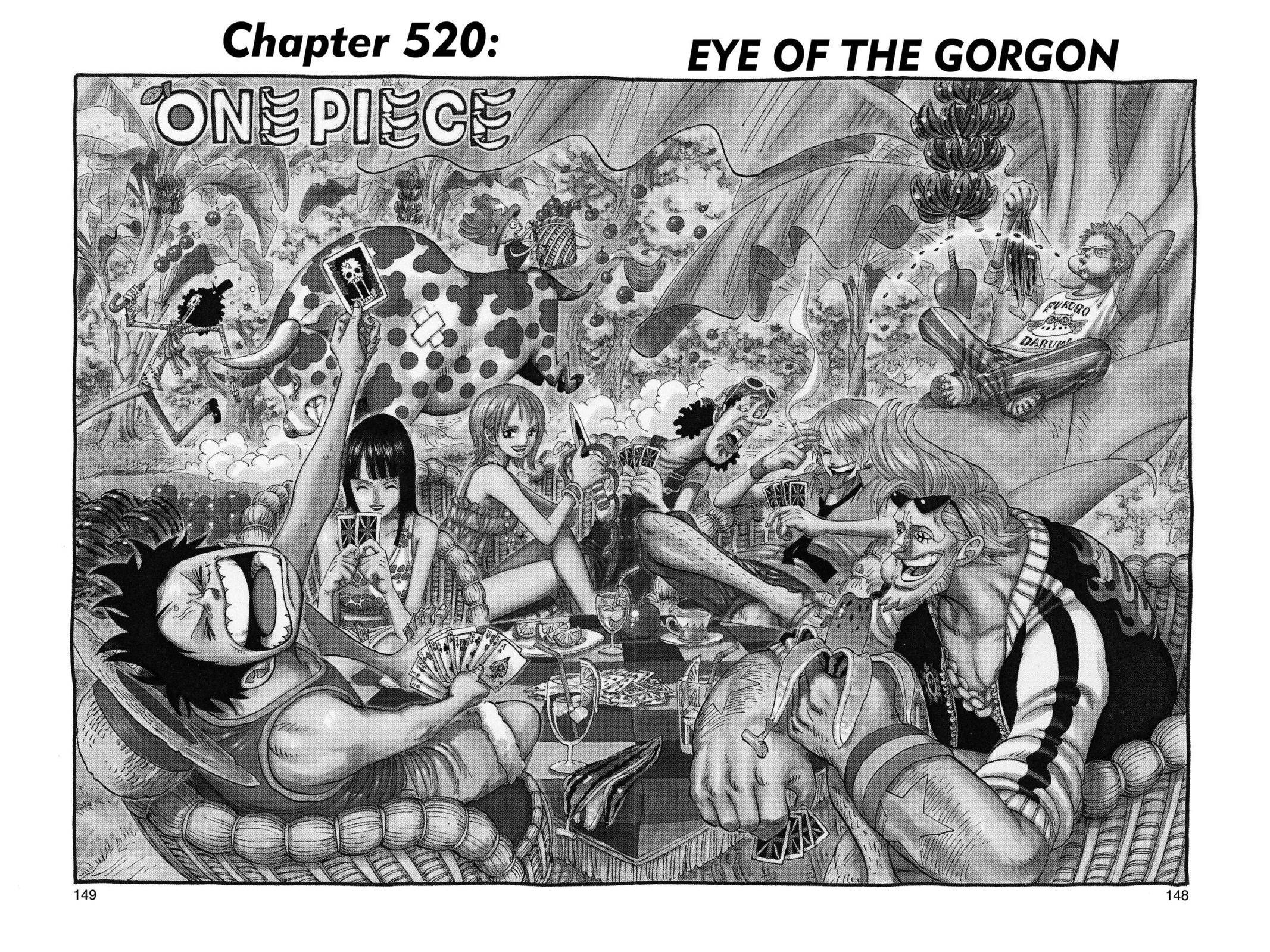 One Piece Chapter 520 Page 1