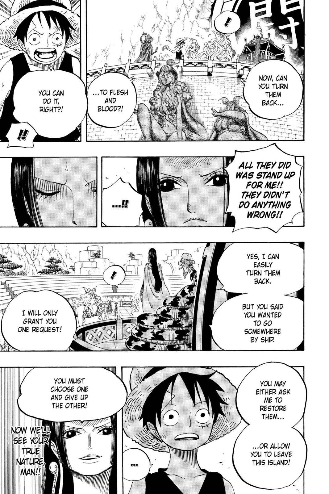 One Piece Chapter 521 Page 3