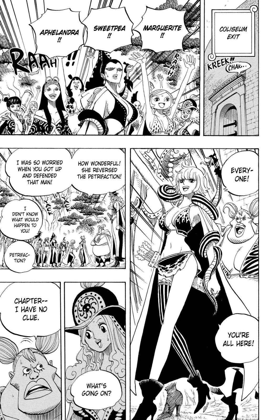 One Piece Chapter 521 Page 5