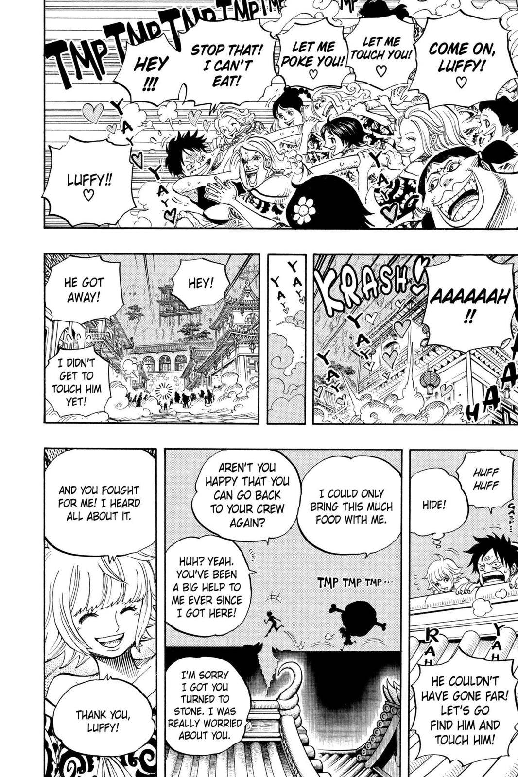 One Piece Chapter 522 Page 4