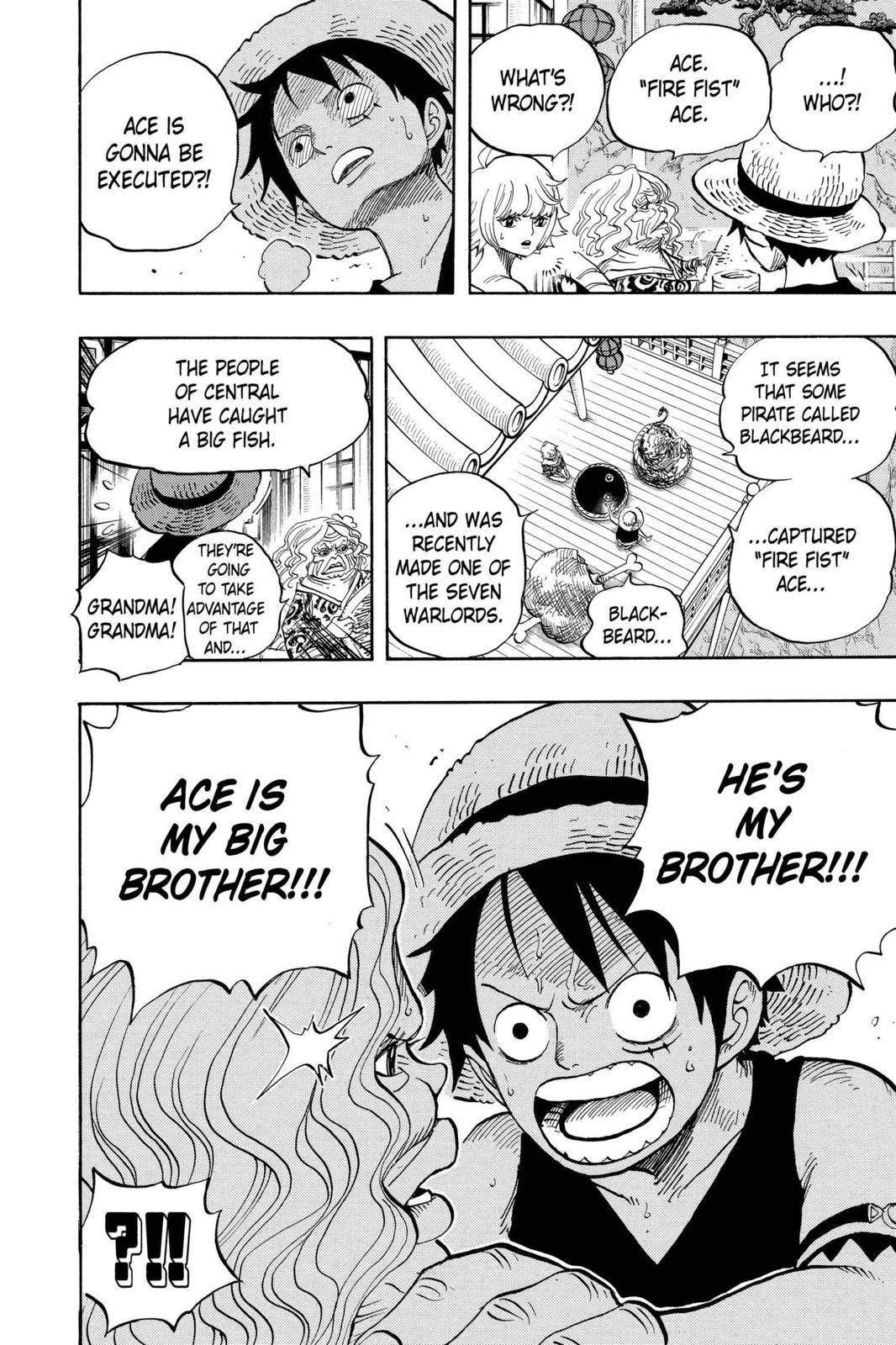 One Piece Chapter 522 Page 8