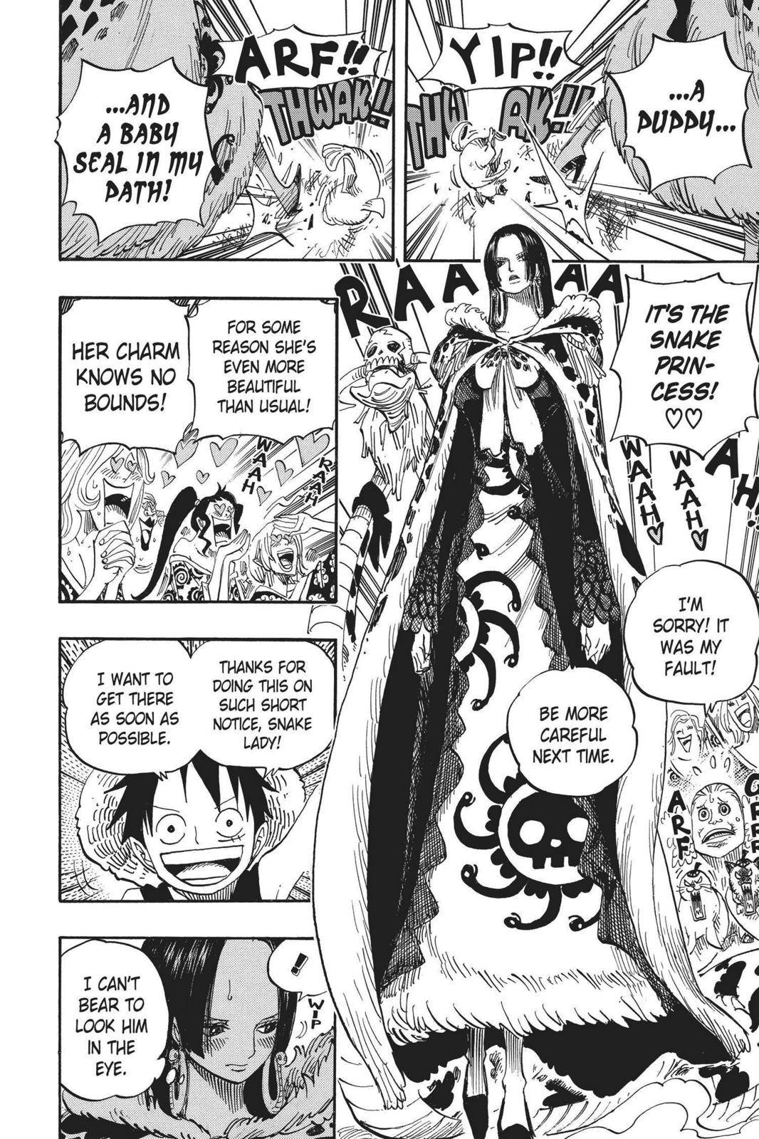One Piece Chapter 523 Page 10