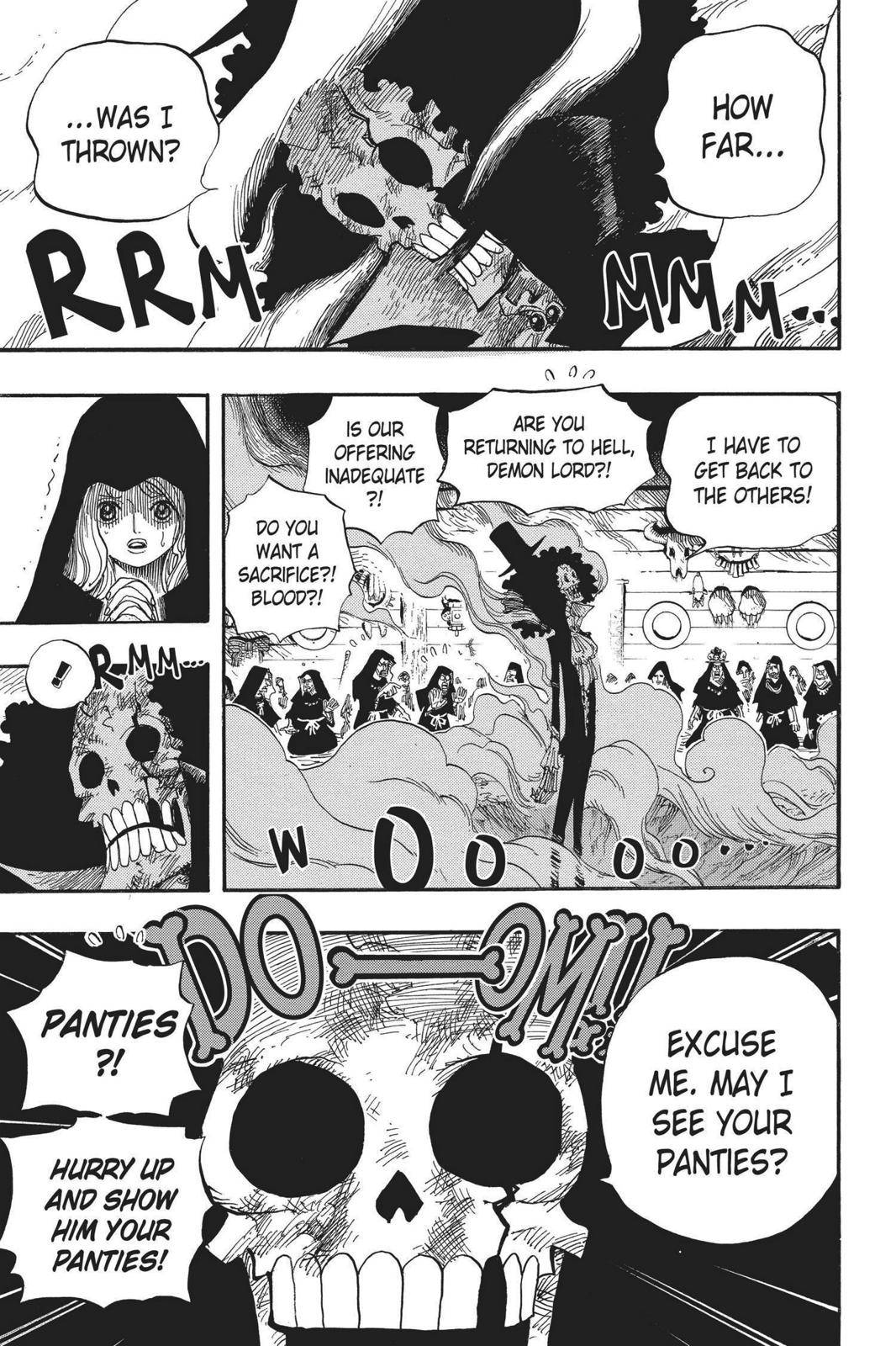 One Piece Chapter 524 Page 5