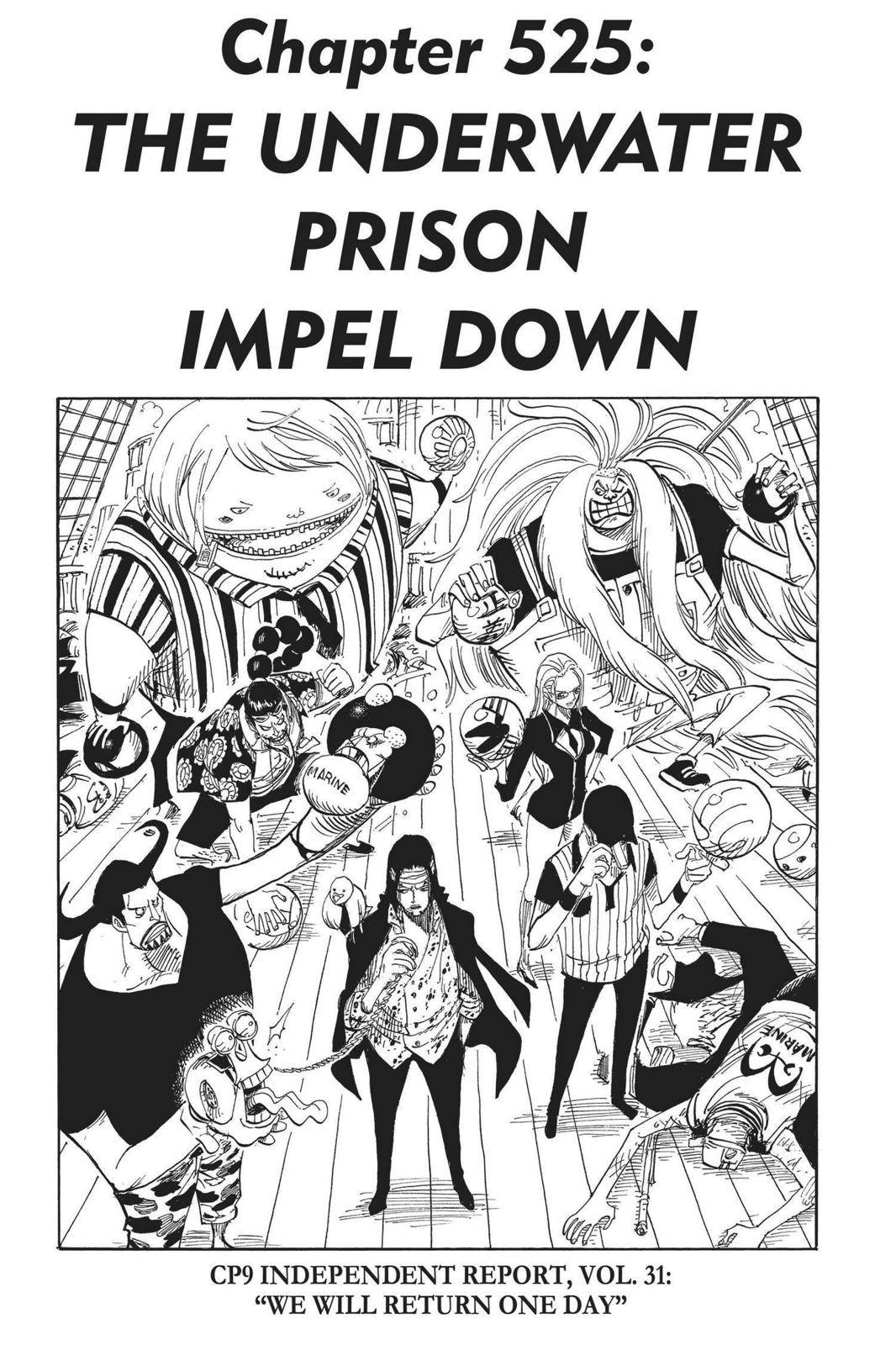 One Piece Chapter 525 Page 1