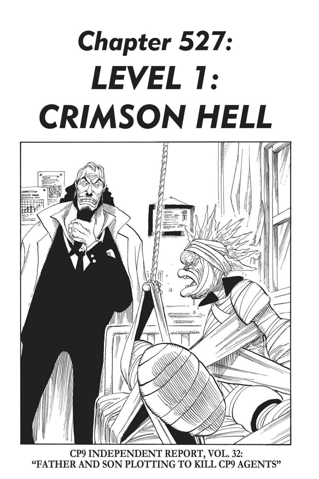 One Piece Chapter 527 Page 1