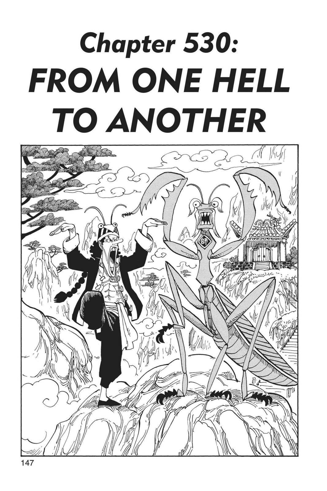 One Piece Chapter 530 Page 1