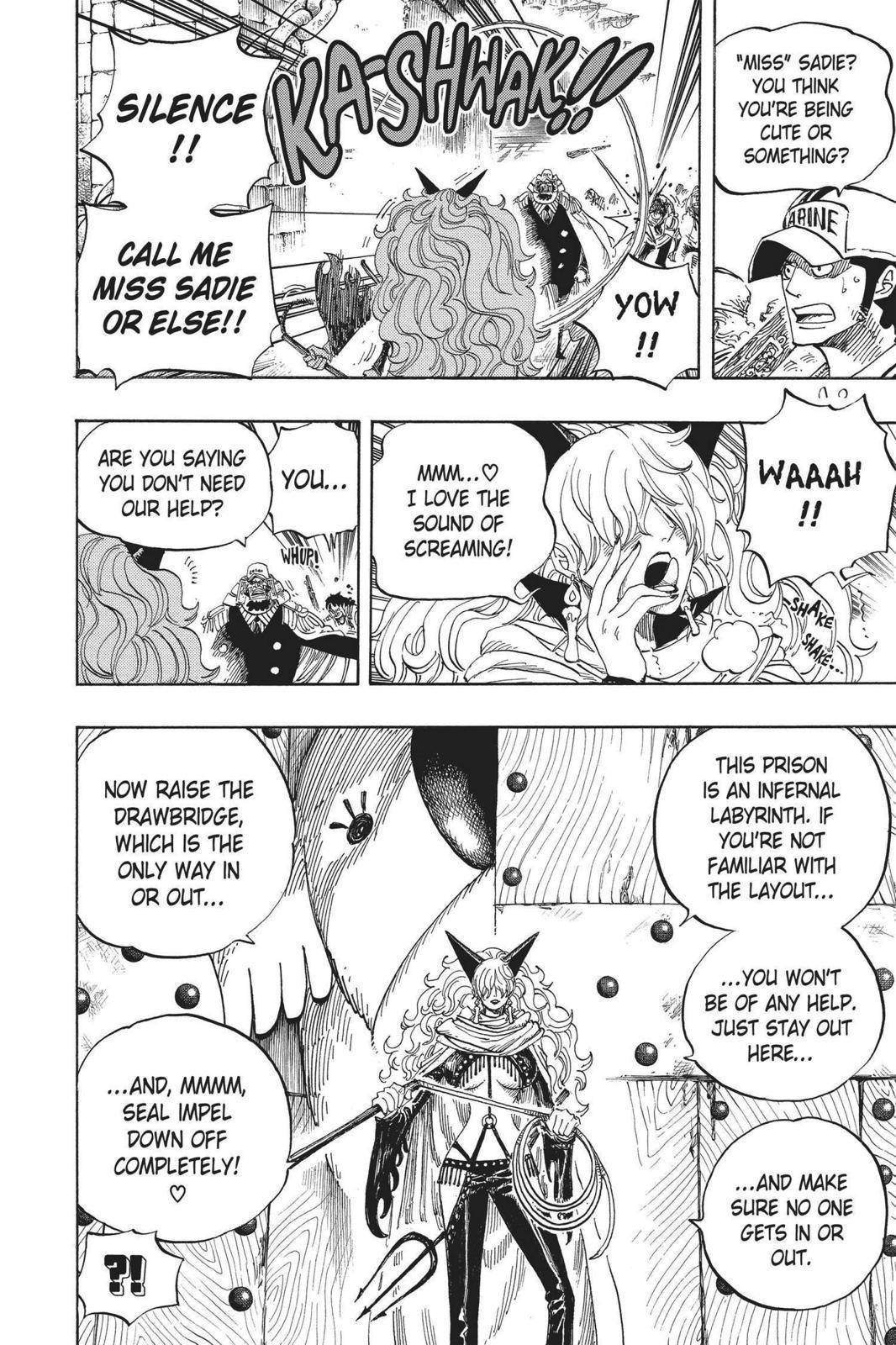 One Piece Chapter 531 Page 4