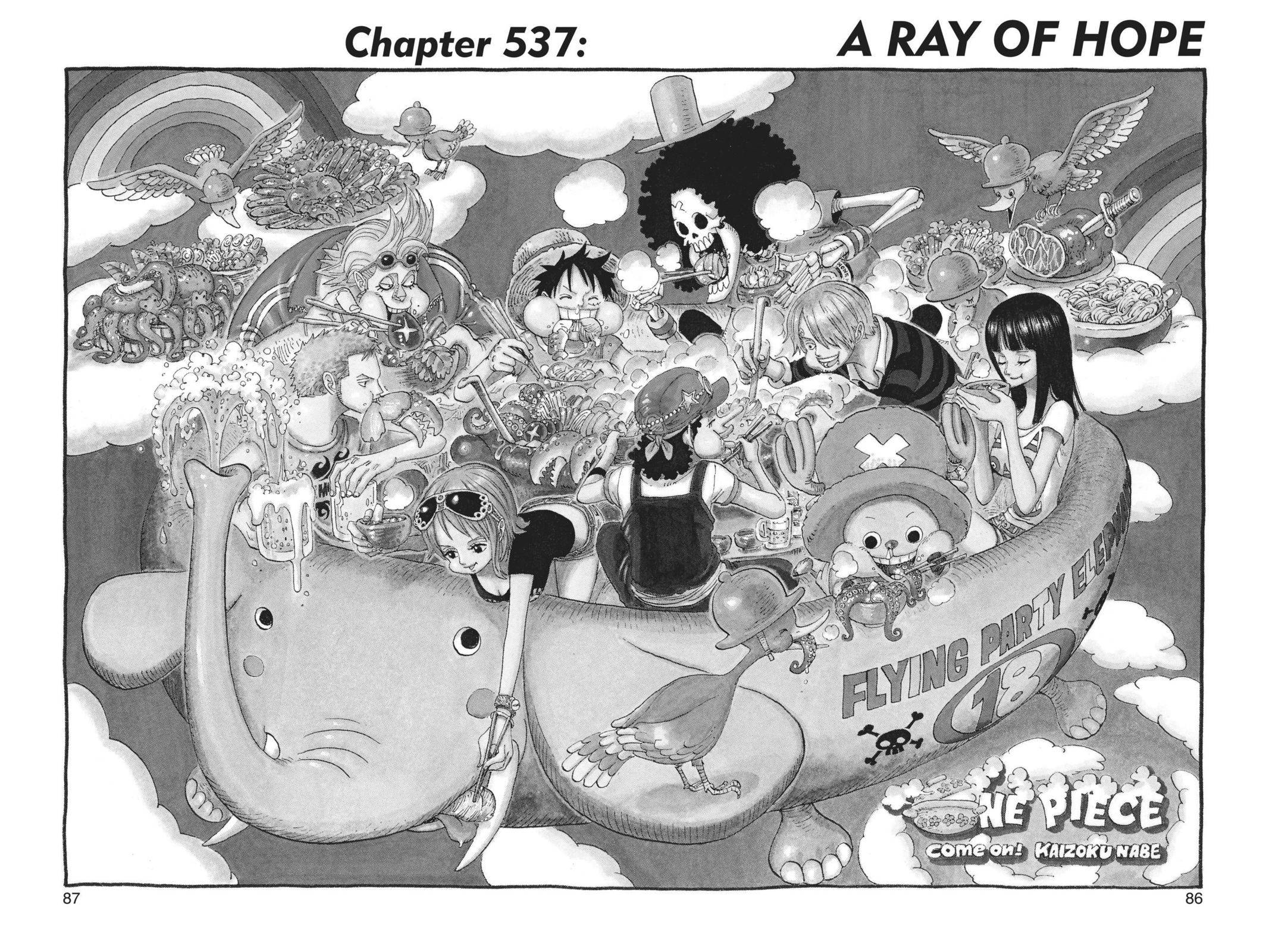One Piece Chapter 537 Page 1