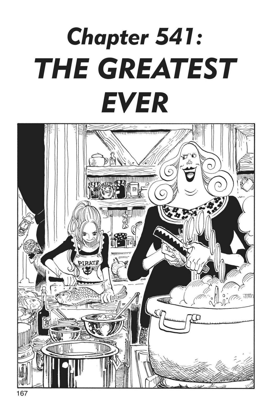 One Piece Chapter 541 Page 1