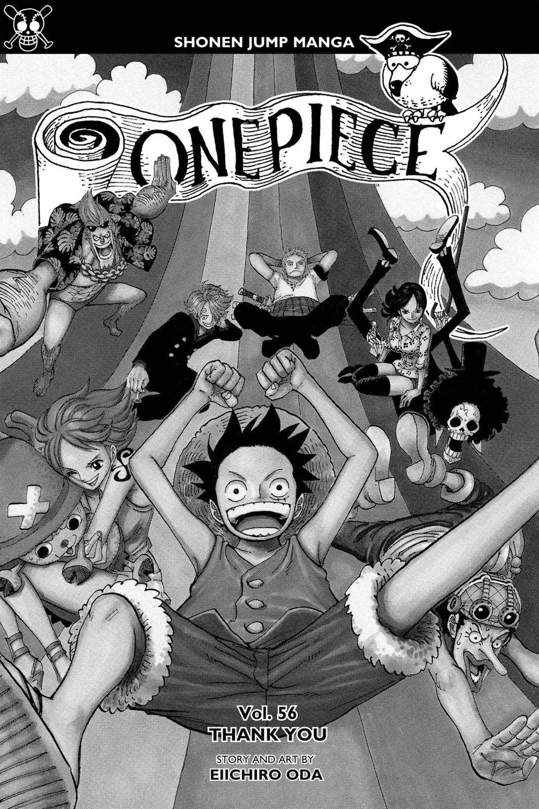 One Piece Chapter 542 Page 4