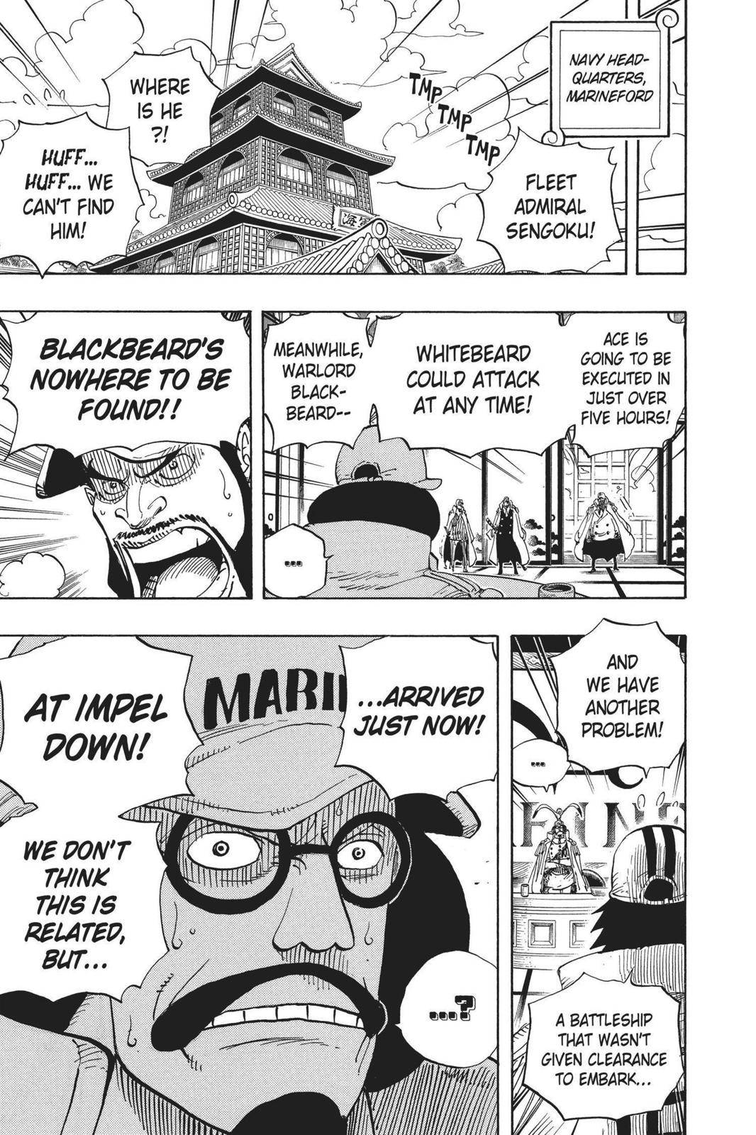 One Piece Chapter 542 Page 9