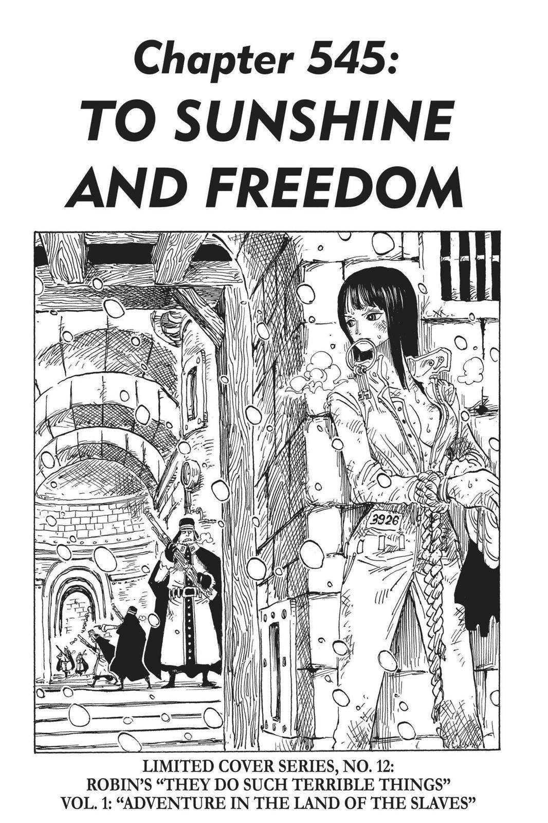 One Piece Chapter 545 Page 1