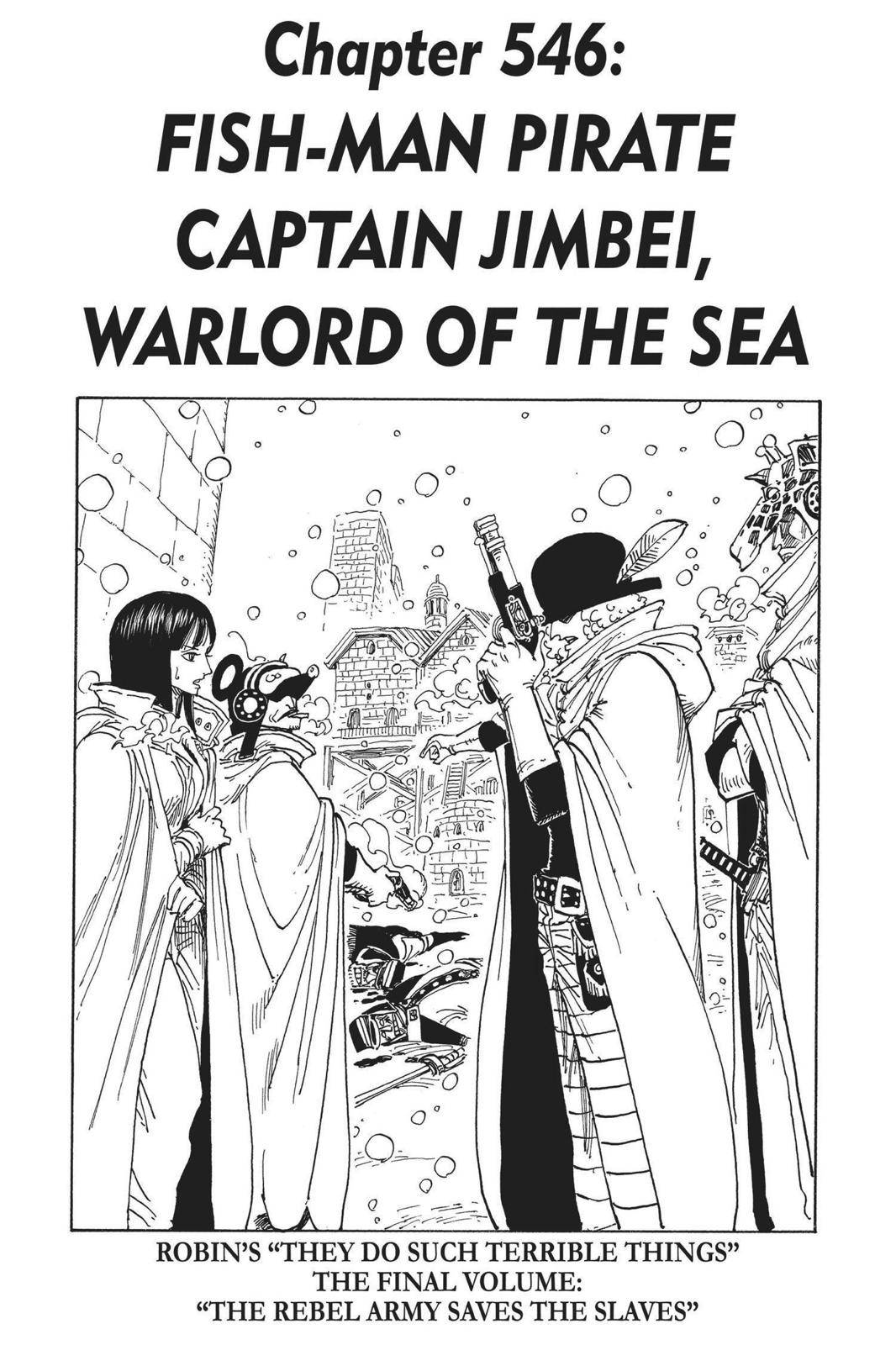One Piece Chapter 546 Page 1