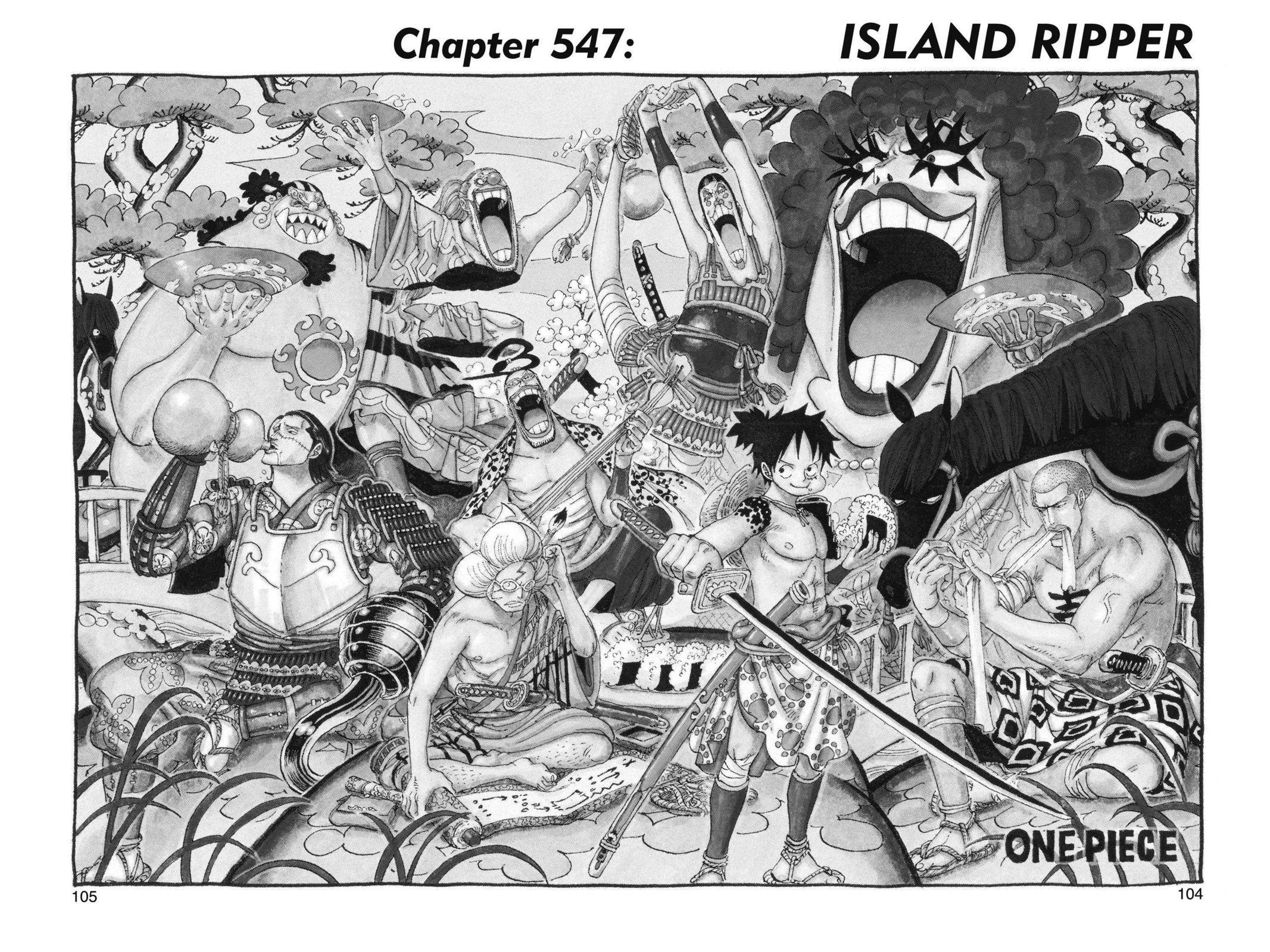 One Piece Chapter 547 Page 1