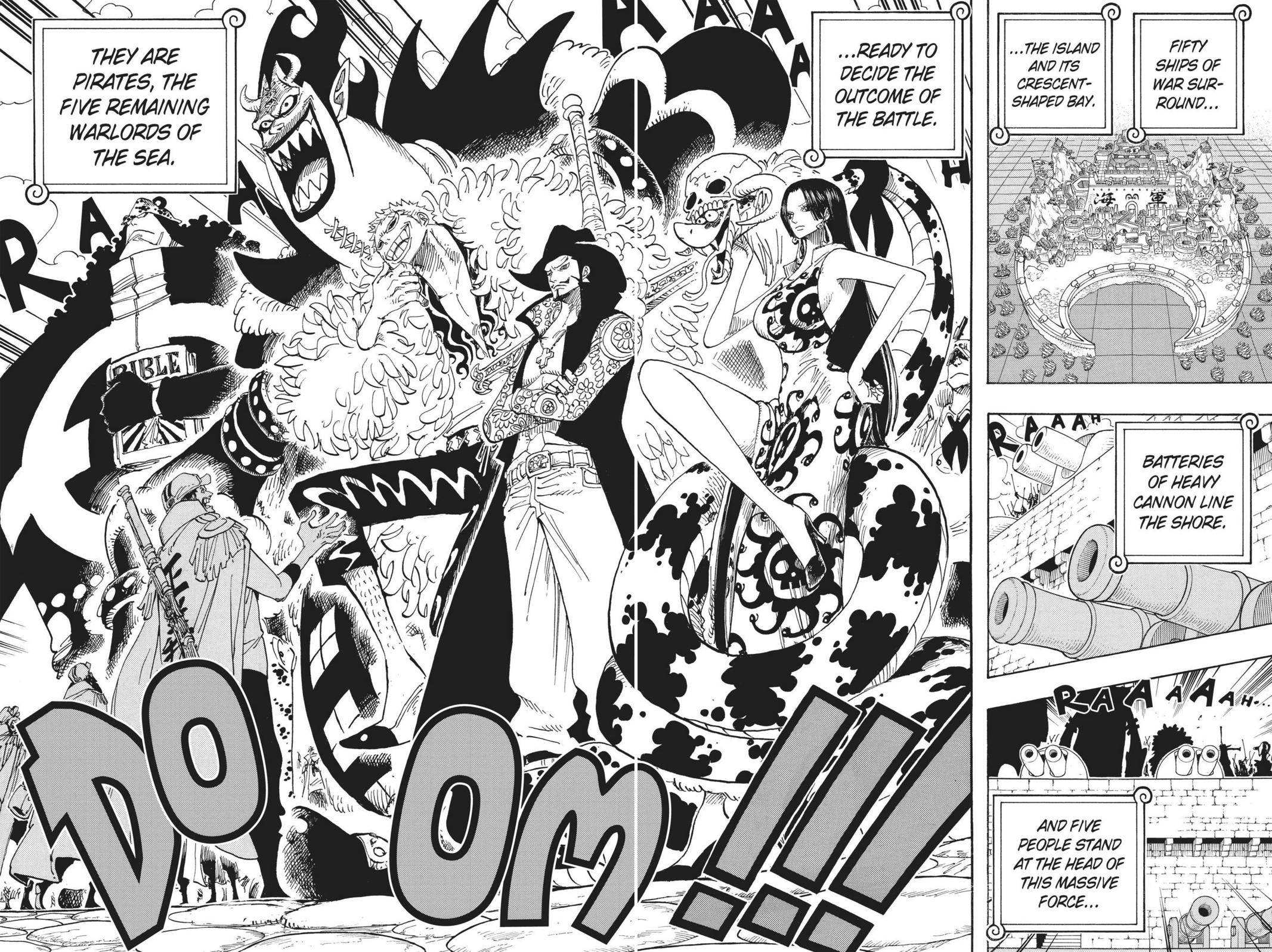 One Piece Chapter 550 Page 7