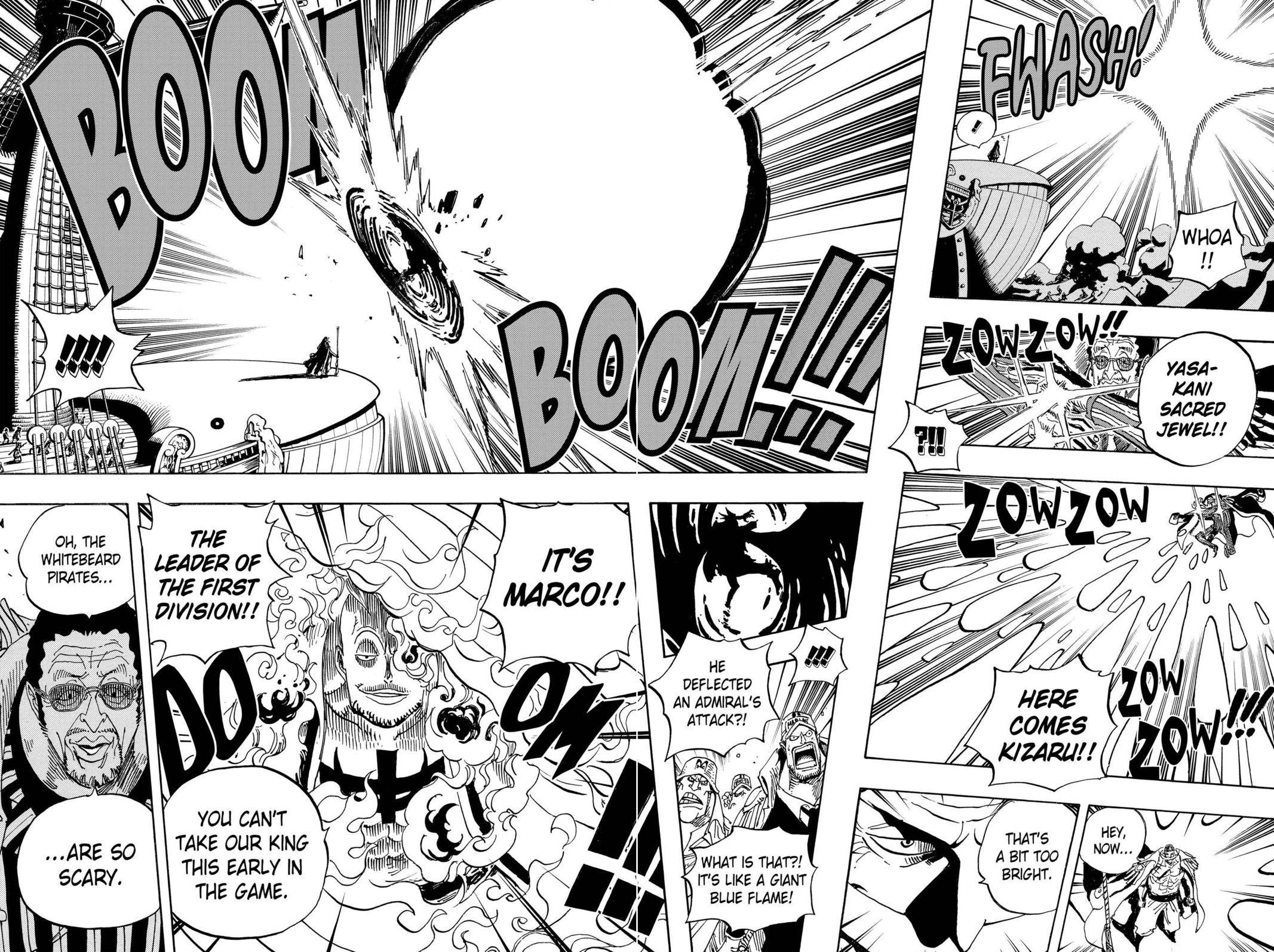 One Piece Chapter 553 Page 10