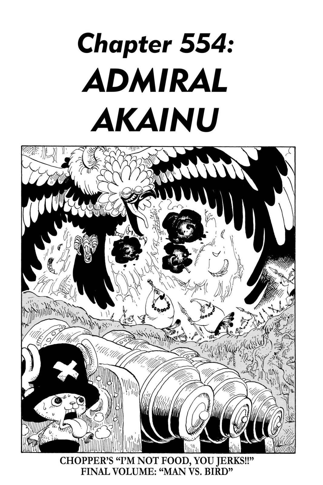 One Piece Chapter 554 Page 1