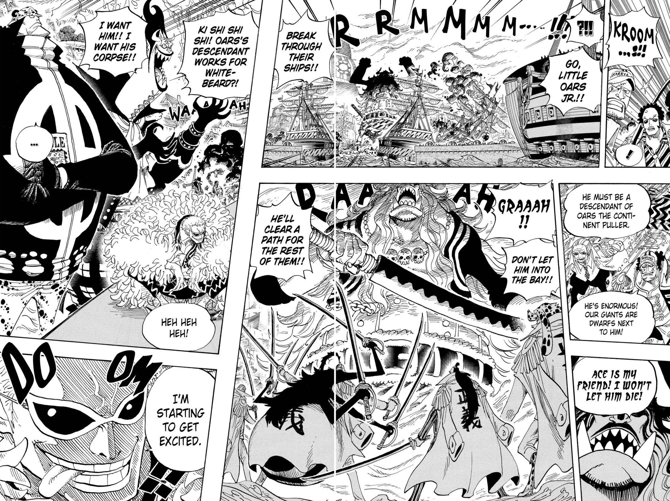 One Piece Chapter 554 Page 8