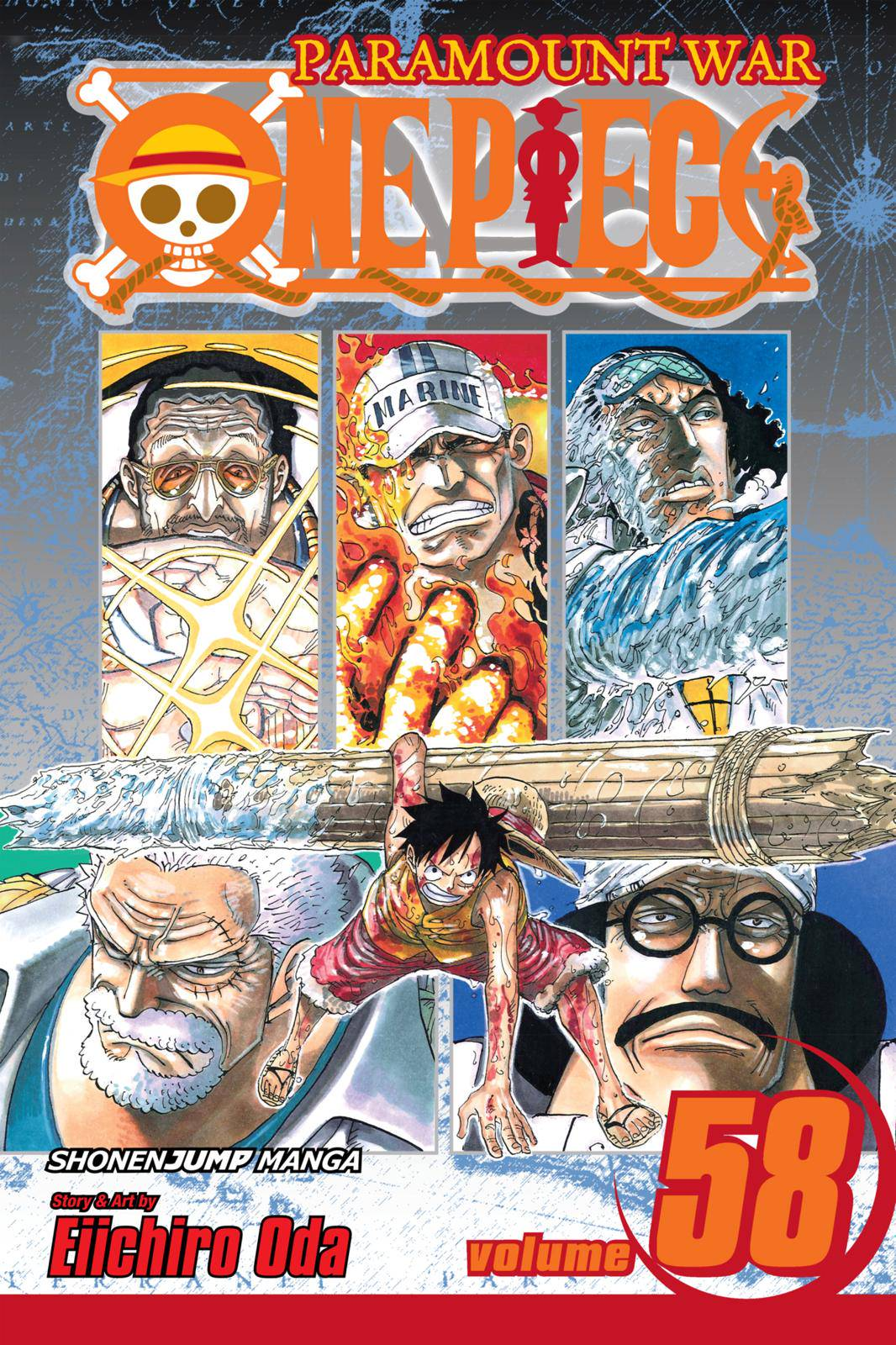 One Piece Chapter 563 Page 1