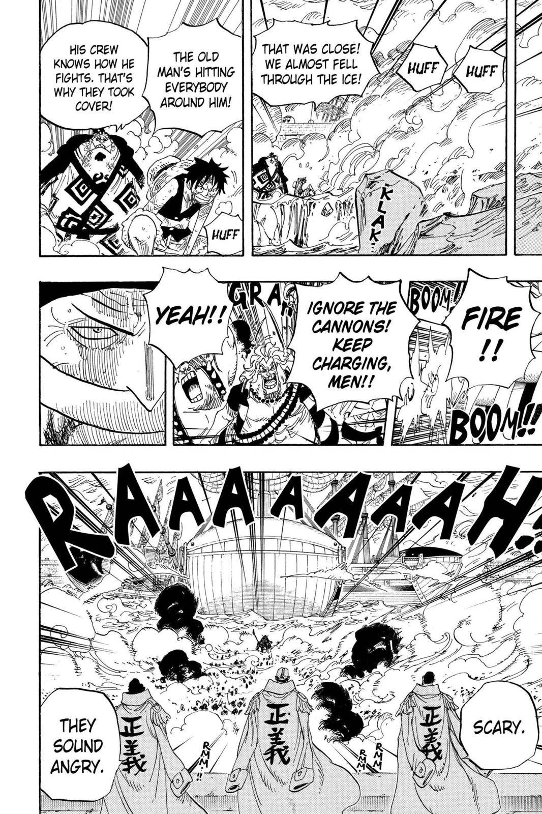 One Piece Chapter 564 Page 10