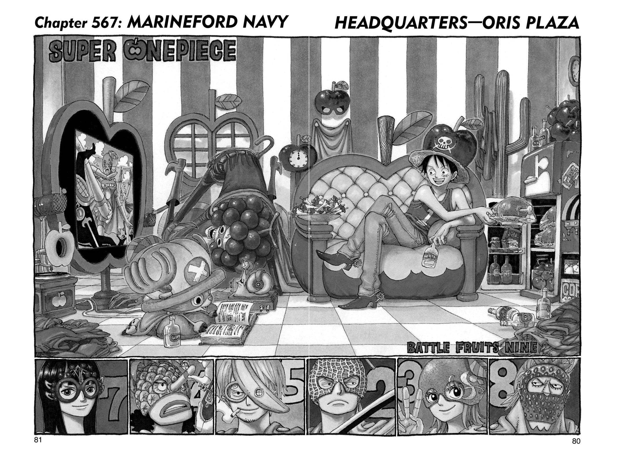 One Piece Chapter 567 Page 1
