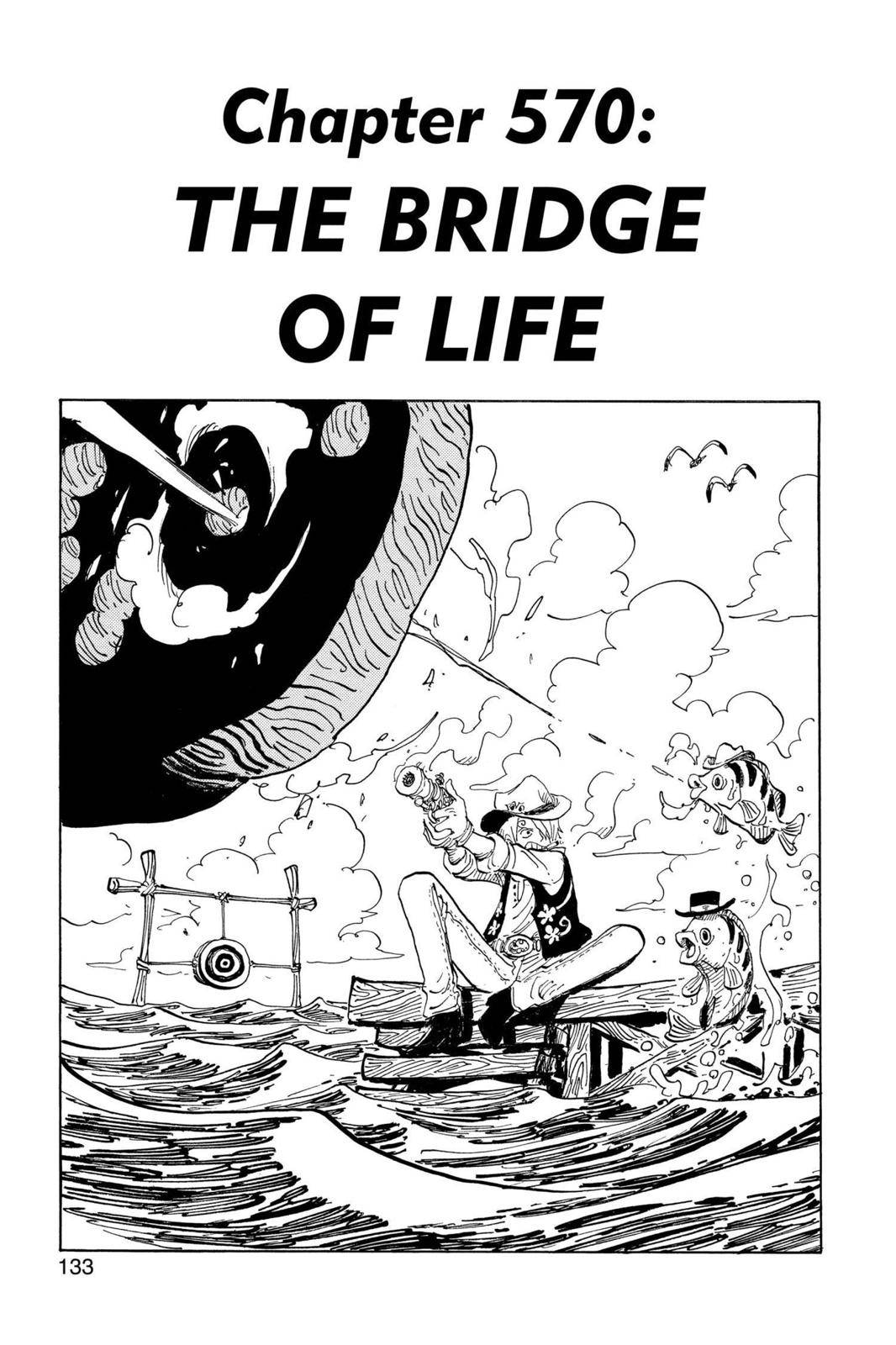 One Piece Chapter 570 Page 1