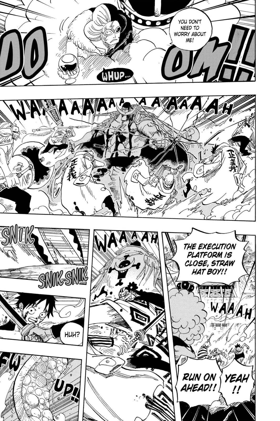 One Piece Chapter 570 Page 10