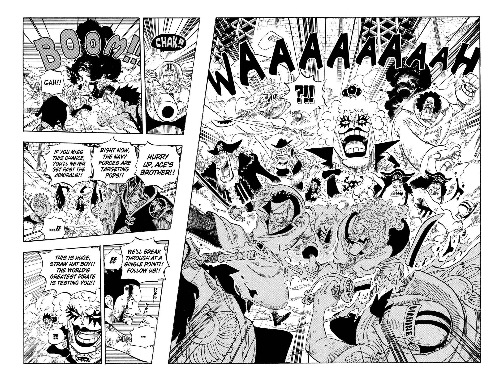 One Piece Chapter 570 Page 6