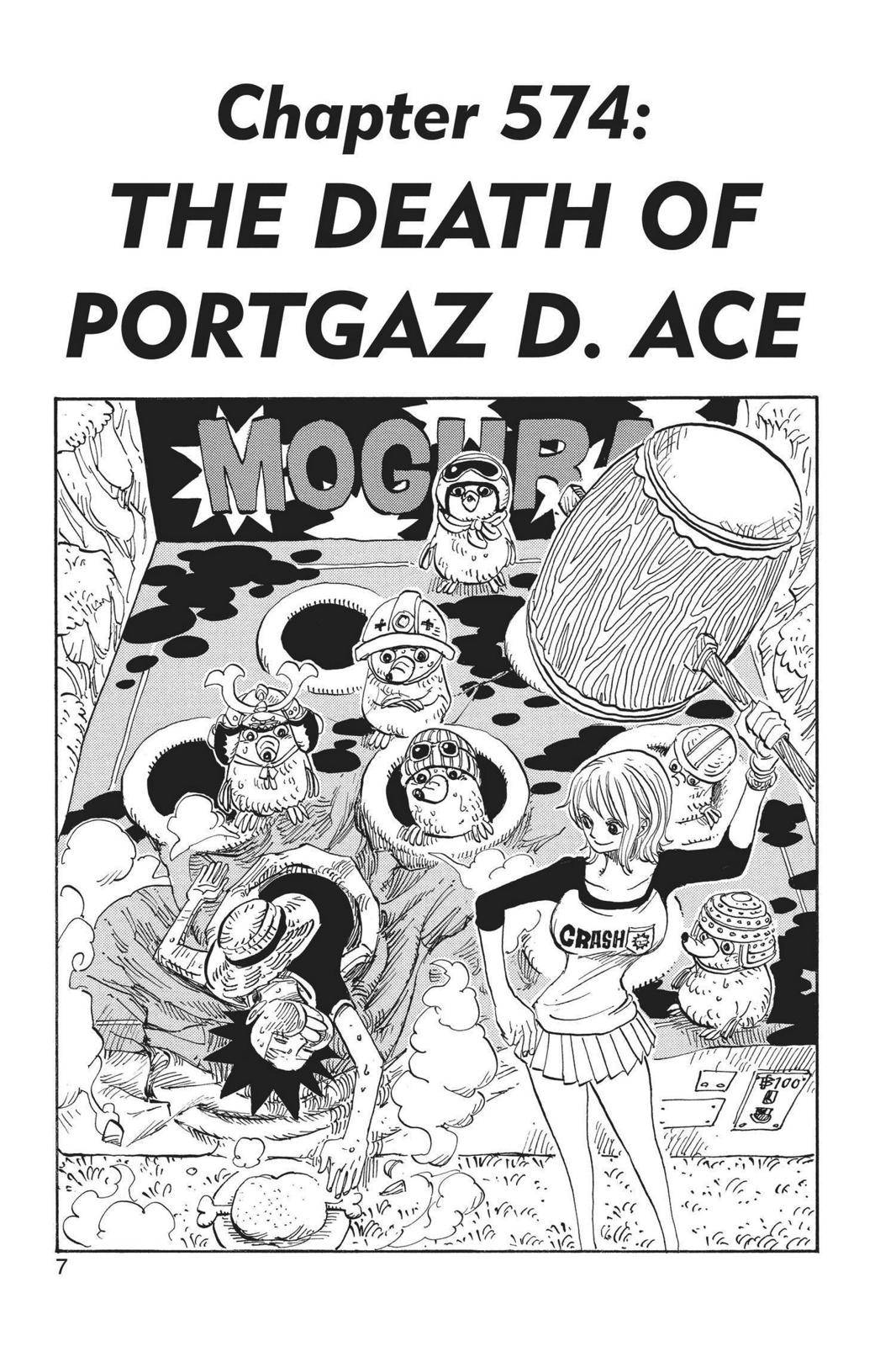 One Piece Chapter 574 Page 7