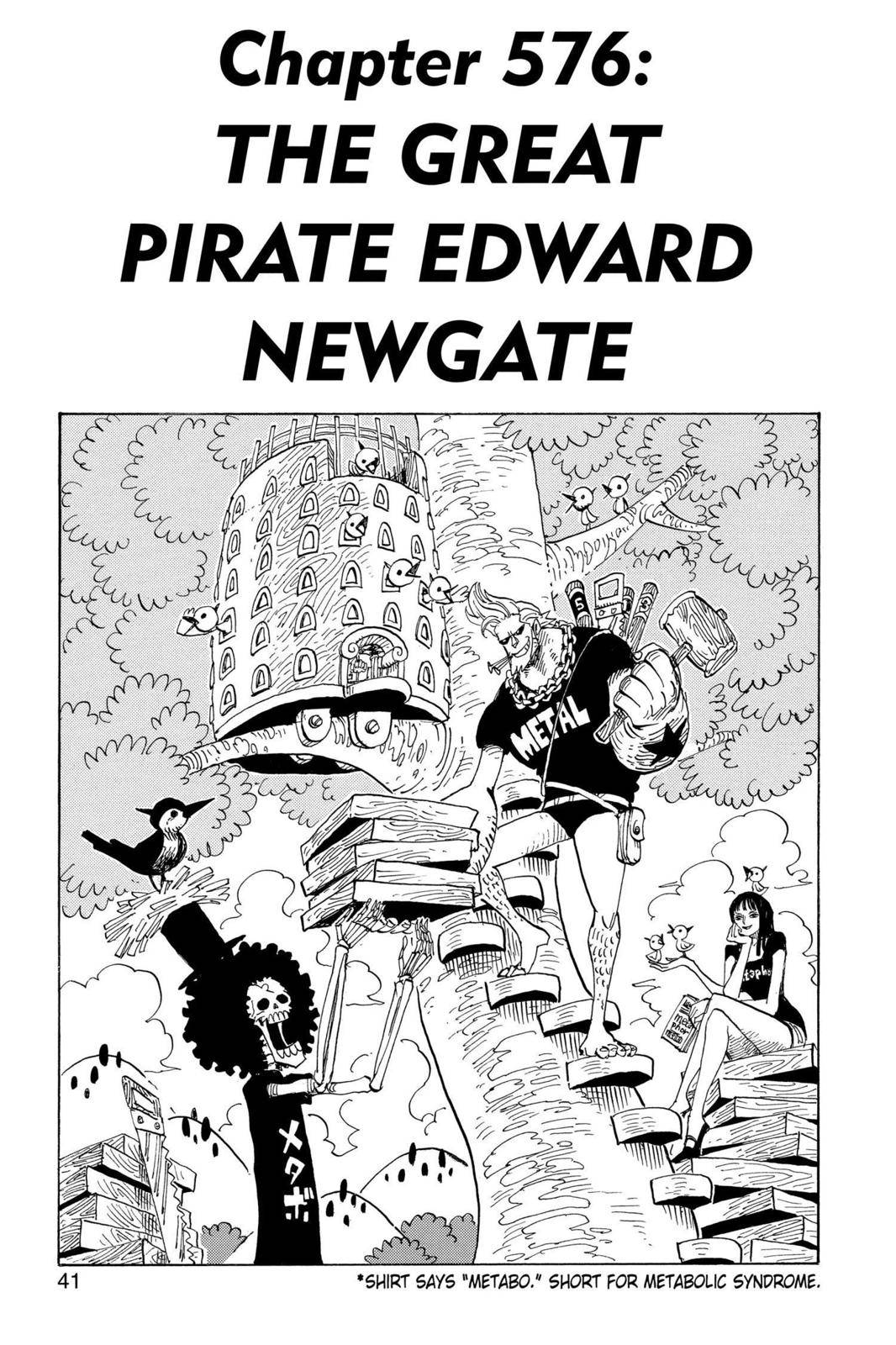 One Piece Chapter 576 Page 1