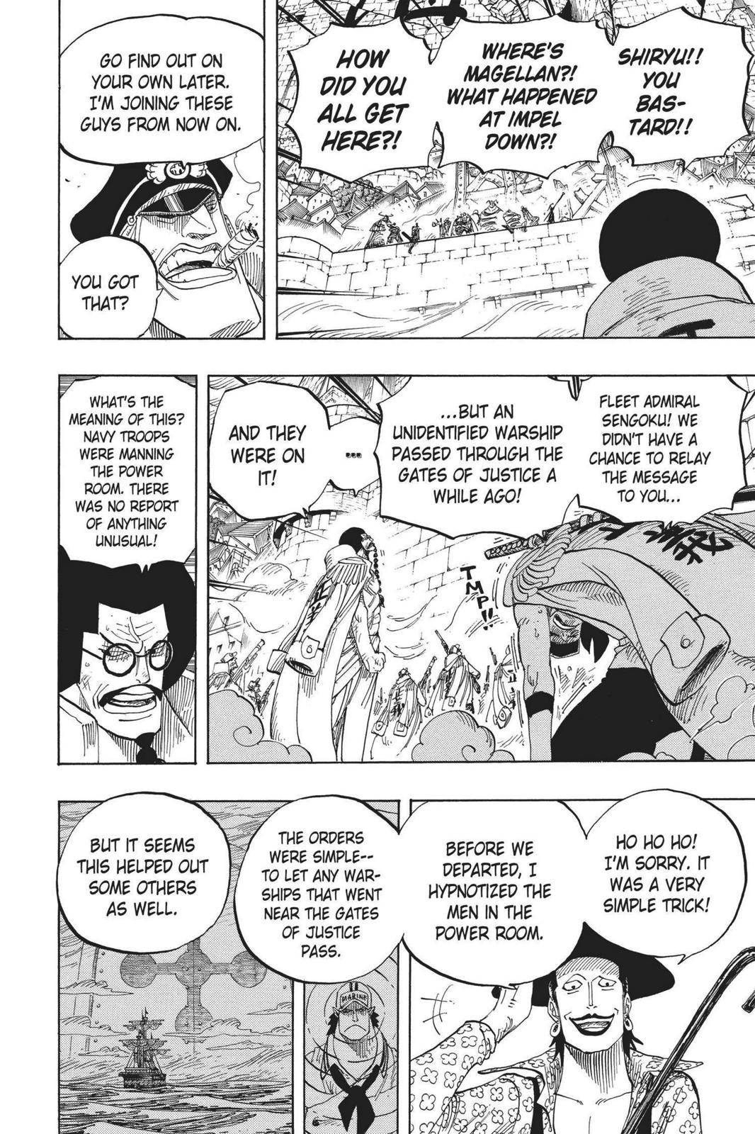 One Piece Chapter 576 Page 4