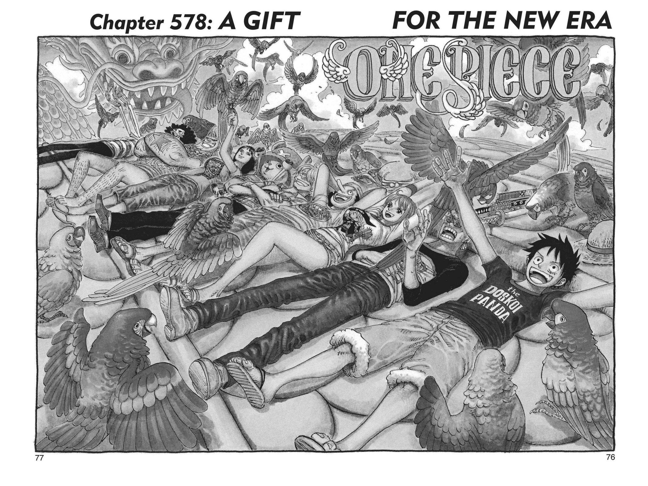 One Piece Chapter 578 Page 1