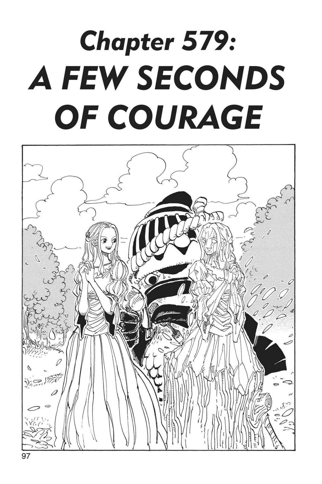 One Piece Chapter 579 Page 1
