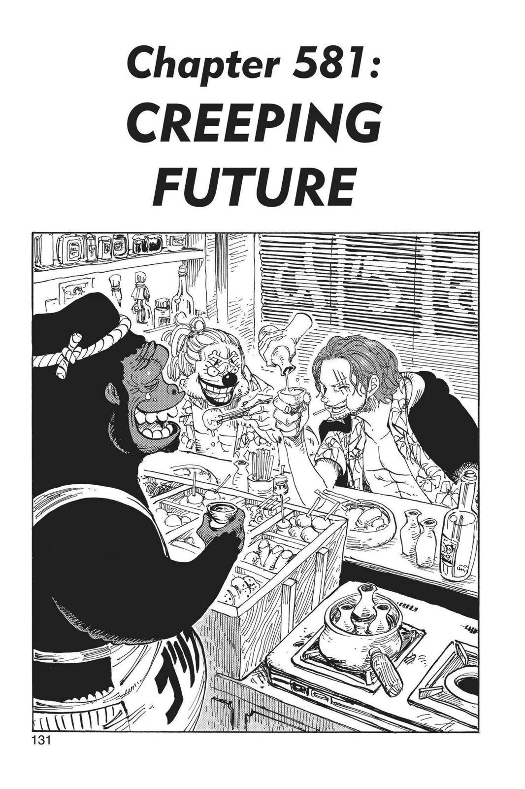 One Piece Chapter 581 Page 1