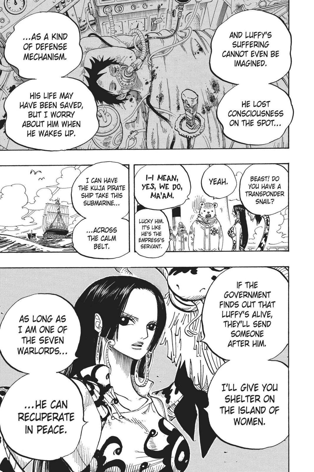 One Piece Chapter 581 Page 13