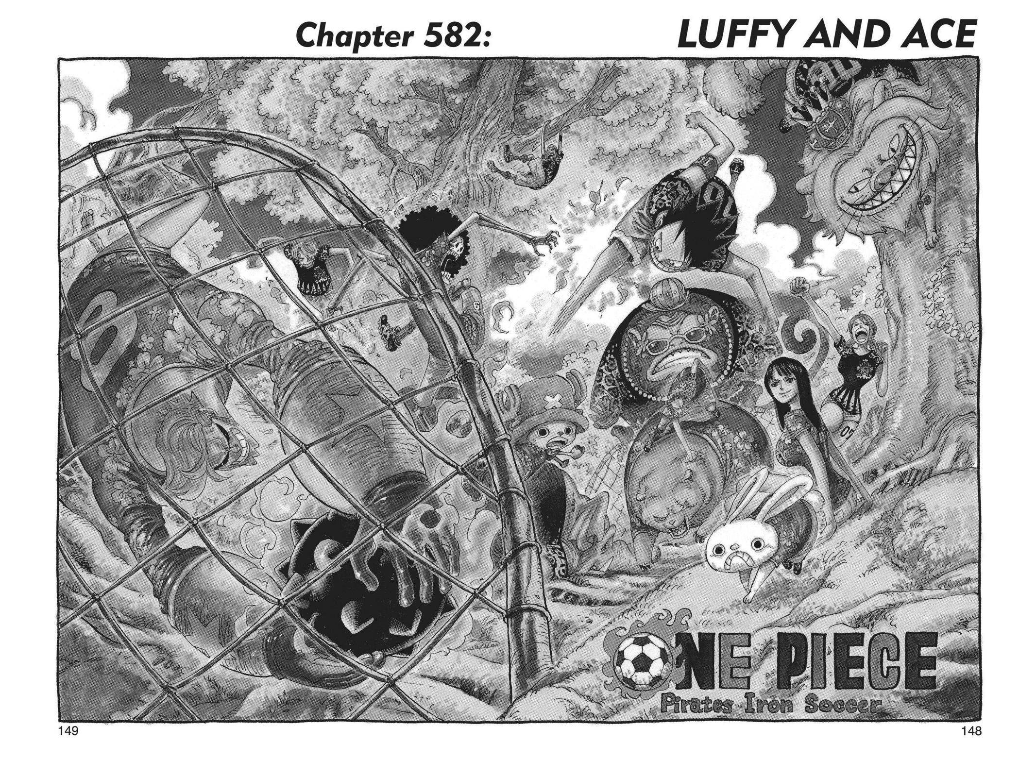 One Piece Chapter 582 Page 1
